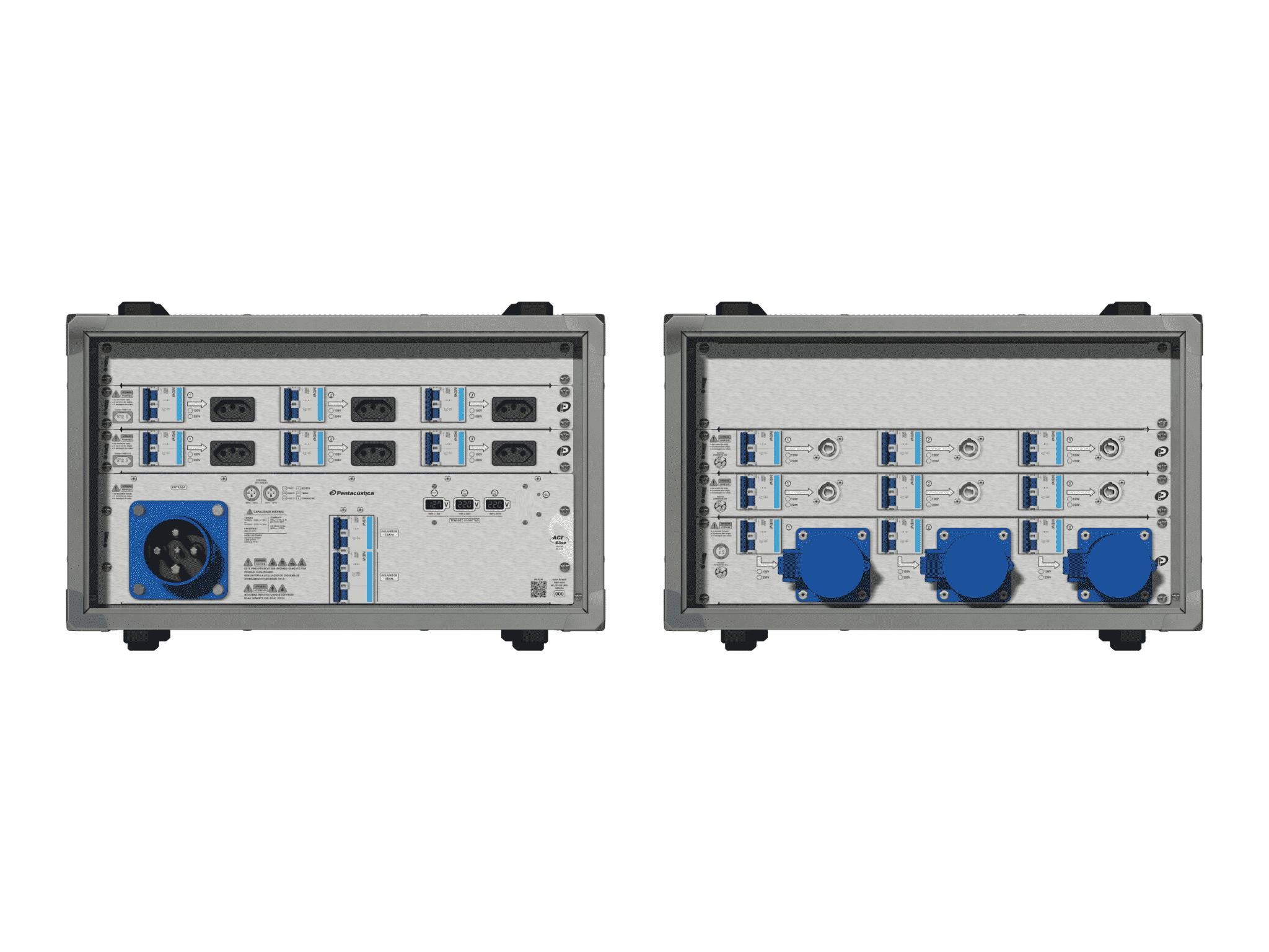 Main power RMP-63se, 4 polos, 2F+CM (Universal), V050