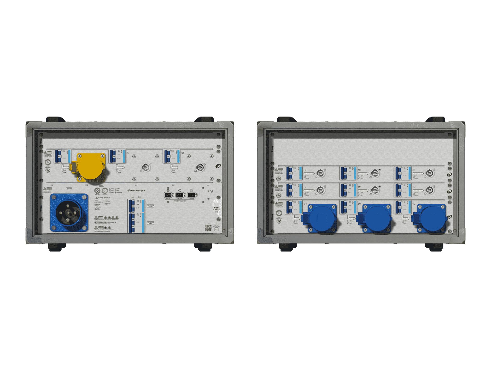 Main power RMP-63se, 4 polos, 2F+CM (Universal), V051
