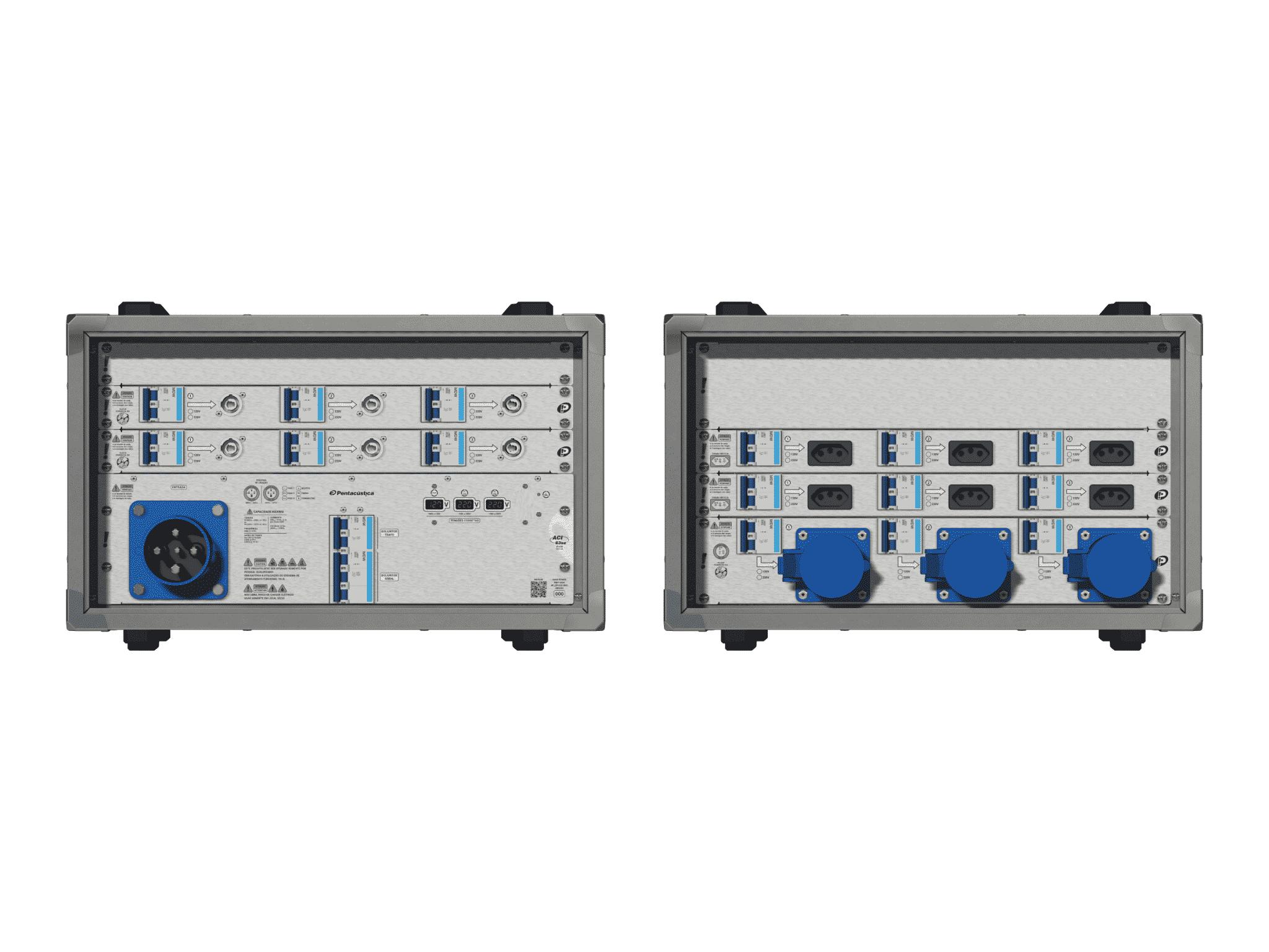 Main power RMP-63se, 4 polos, 2F+CM (Universal), V053