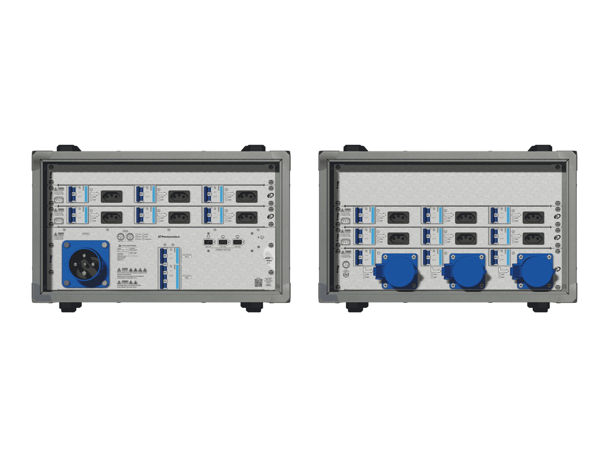 Main power RMP-63se, 4 polos, 2F+CM (Universal), V054