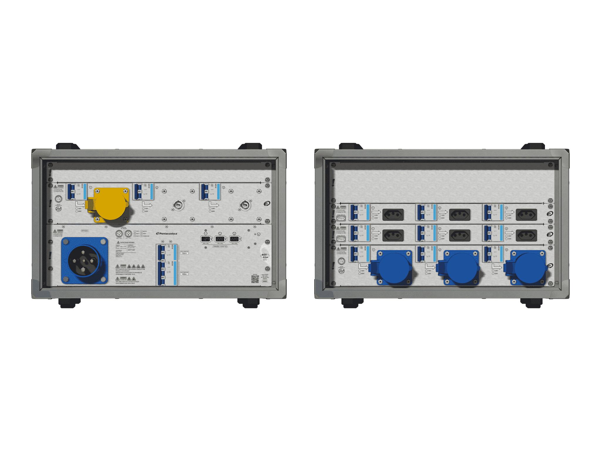 Main power RMP-63se, 4 polos, 2F+CM (Universal), V055
