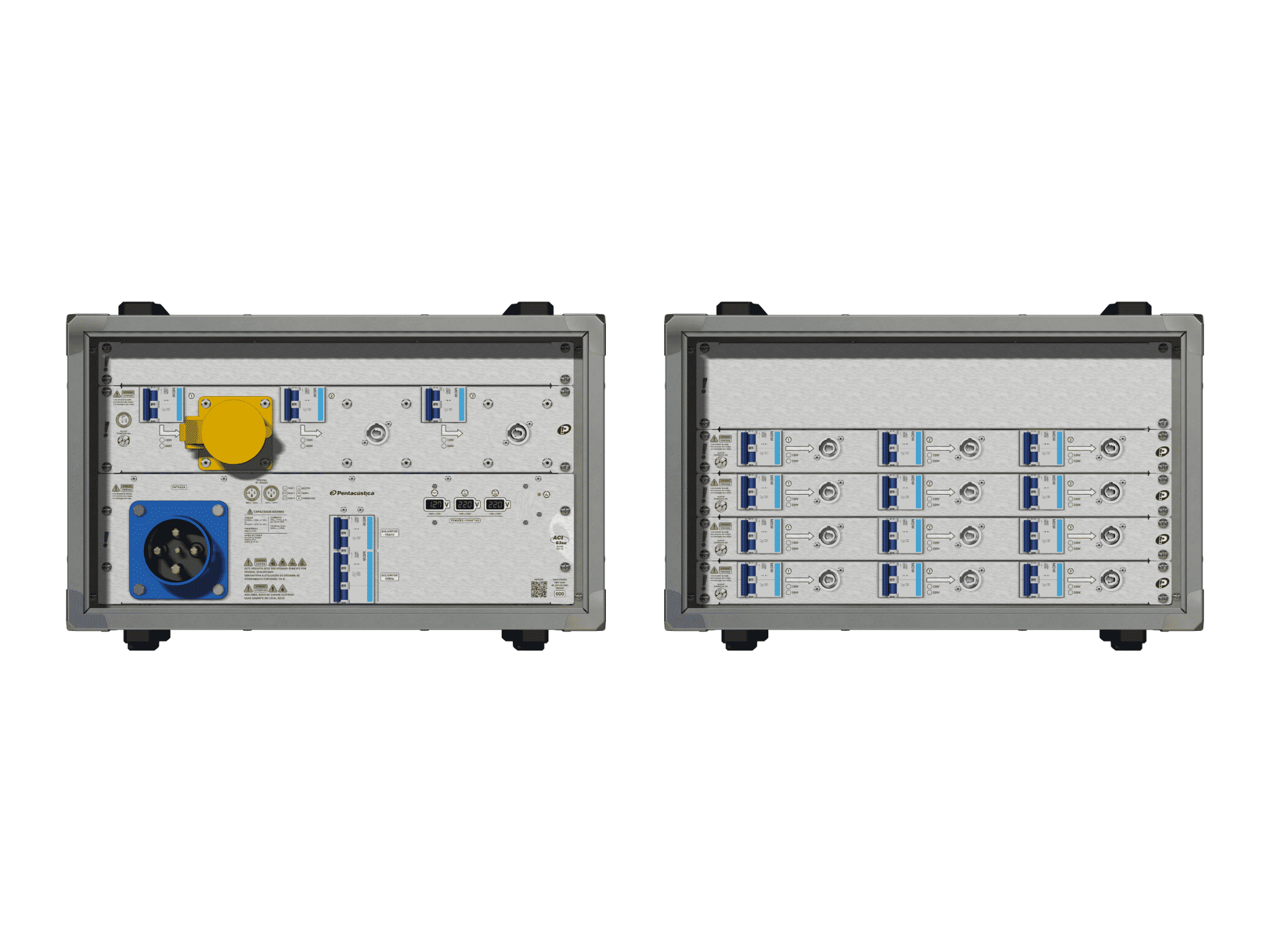 Main power RMP-63se, 4 polos, 2F+CM (Universal), V059