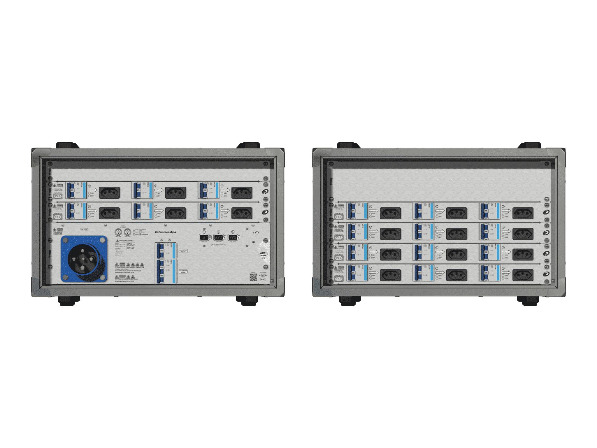 Main power RMP-63se, 4 polos, 2F+CM (Universal), V062