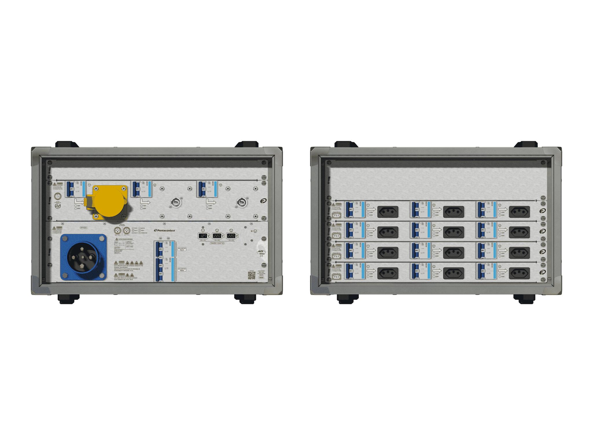 Main power RMP-63se, 4 polos, 2F+CM (Universal), V063