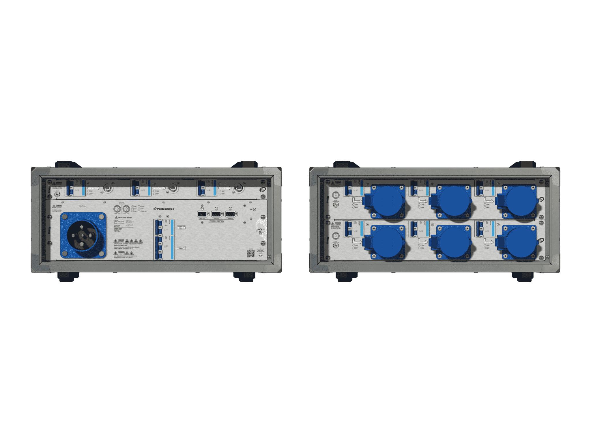 Main power RMP-63se, 4 polos, 2F+CM (Universal), V073