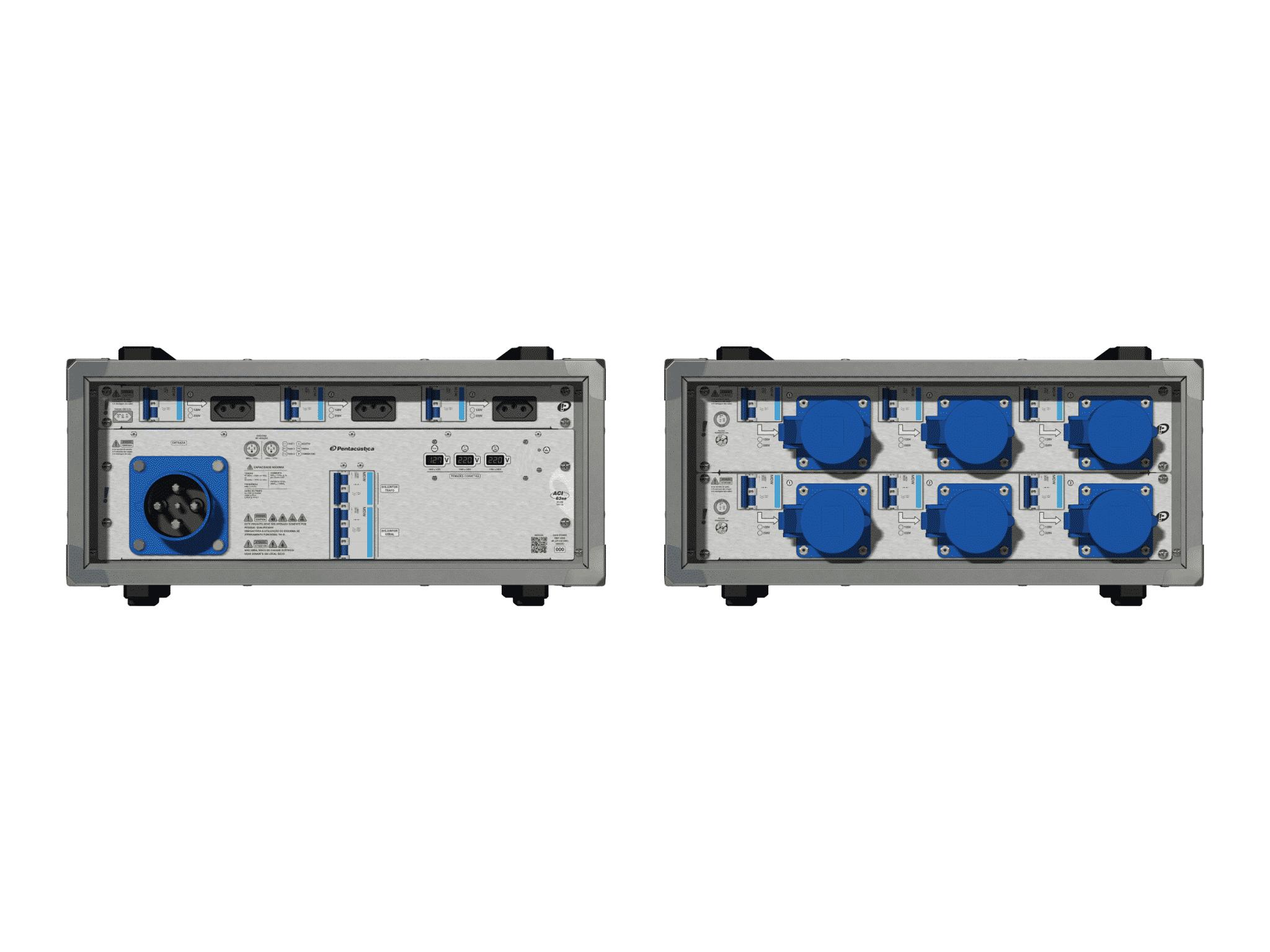 Main power RMP-63se, 4 polos, 2F+CM (Universal), V074