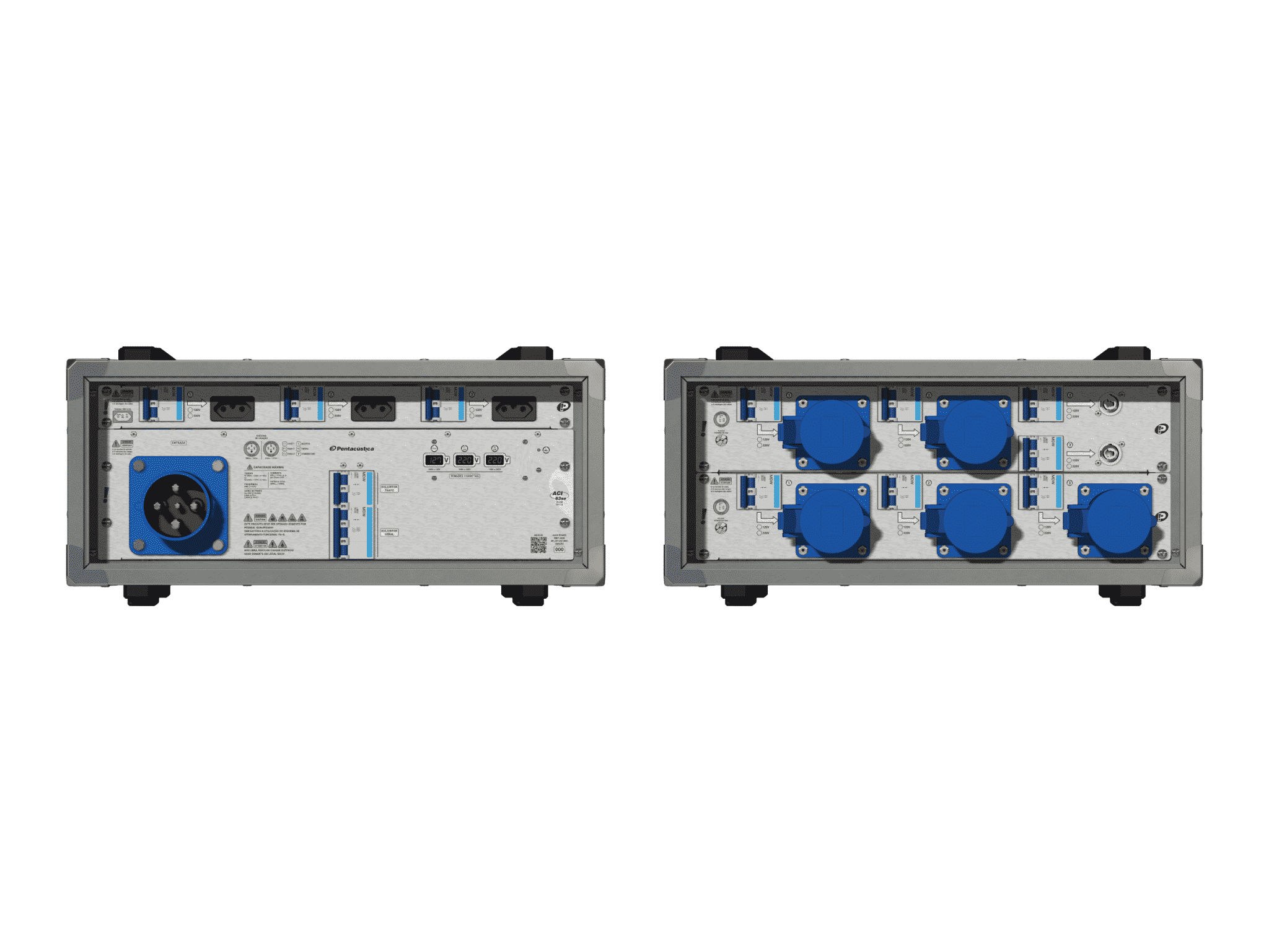 Main power RMP-63se, 4 polos, 2F+CM (Universal), V076