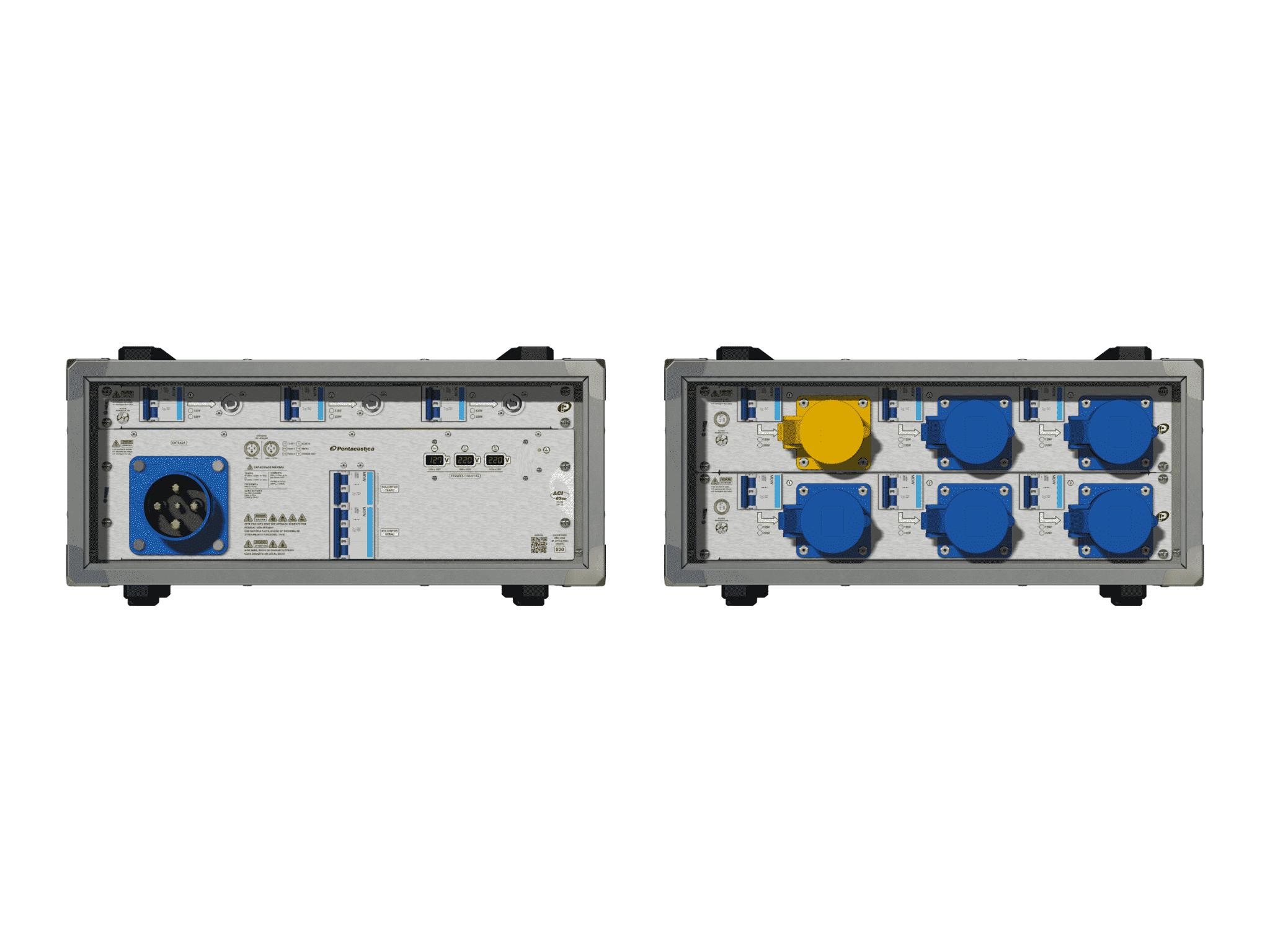 Main power RMP-63se, 4 polos, 2F+CM (Universal), V077