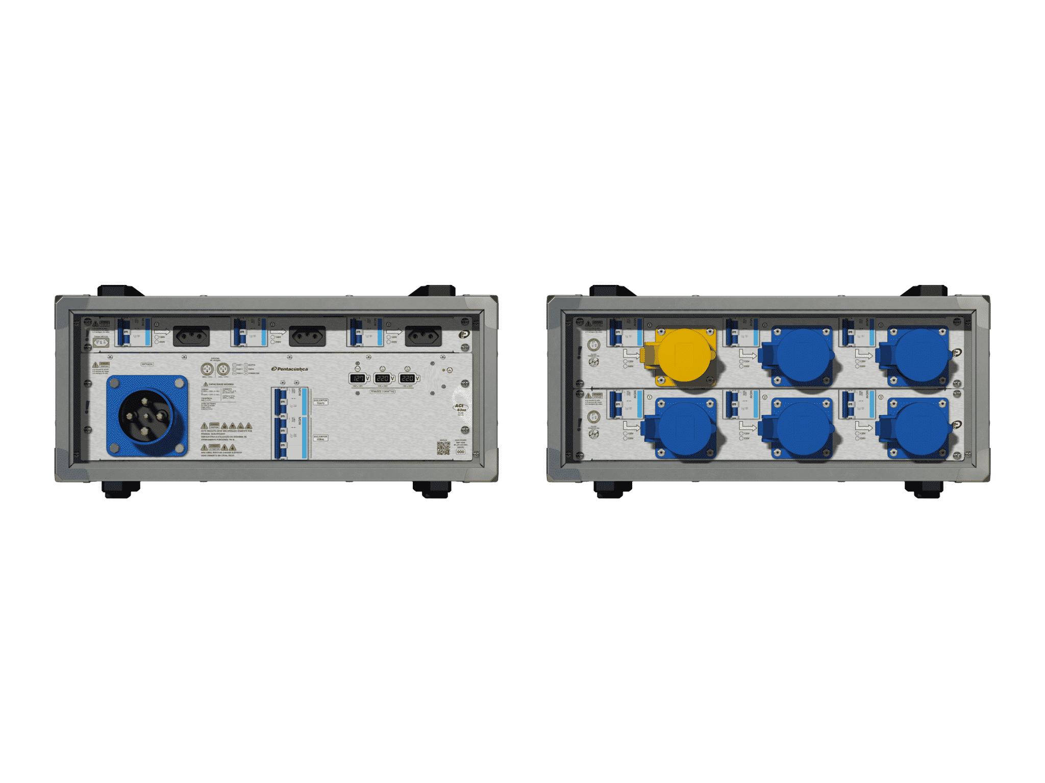 Main power RMP-63se, 4 polos, 2F+CM (Universal), V078