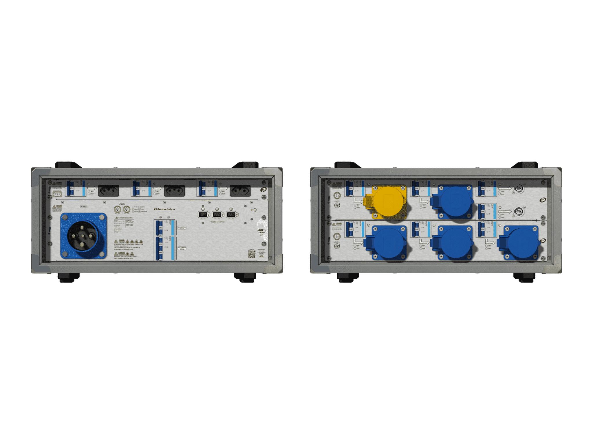 Main power RMP-63se, 4 polos, 2F+CM (Universal), V082