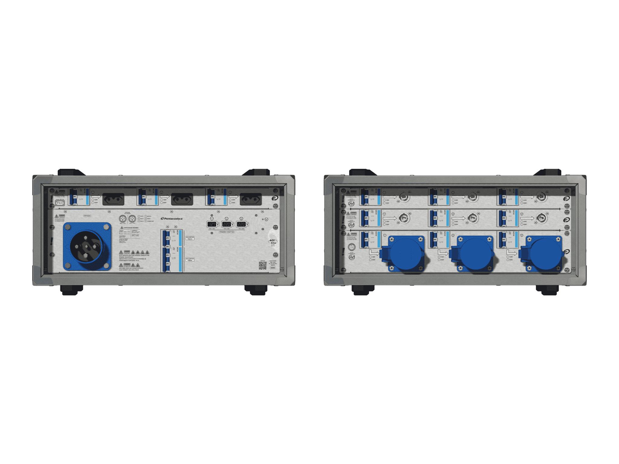 Main power RMP-63se, 4 polos, 2F+CM (Universal), V086