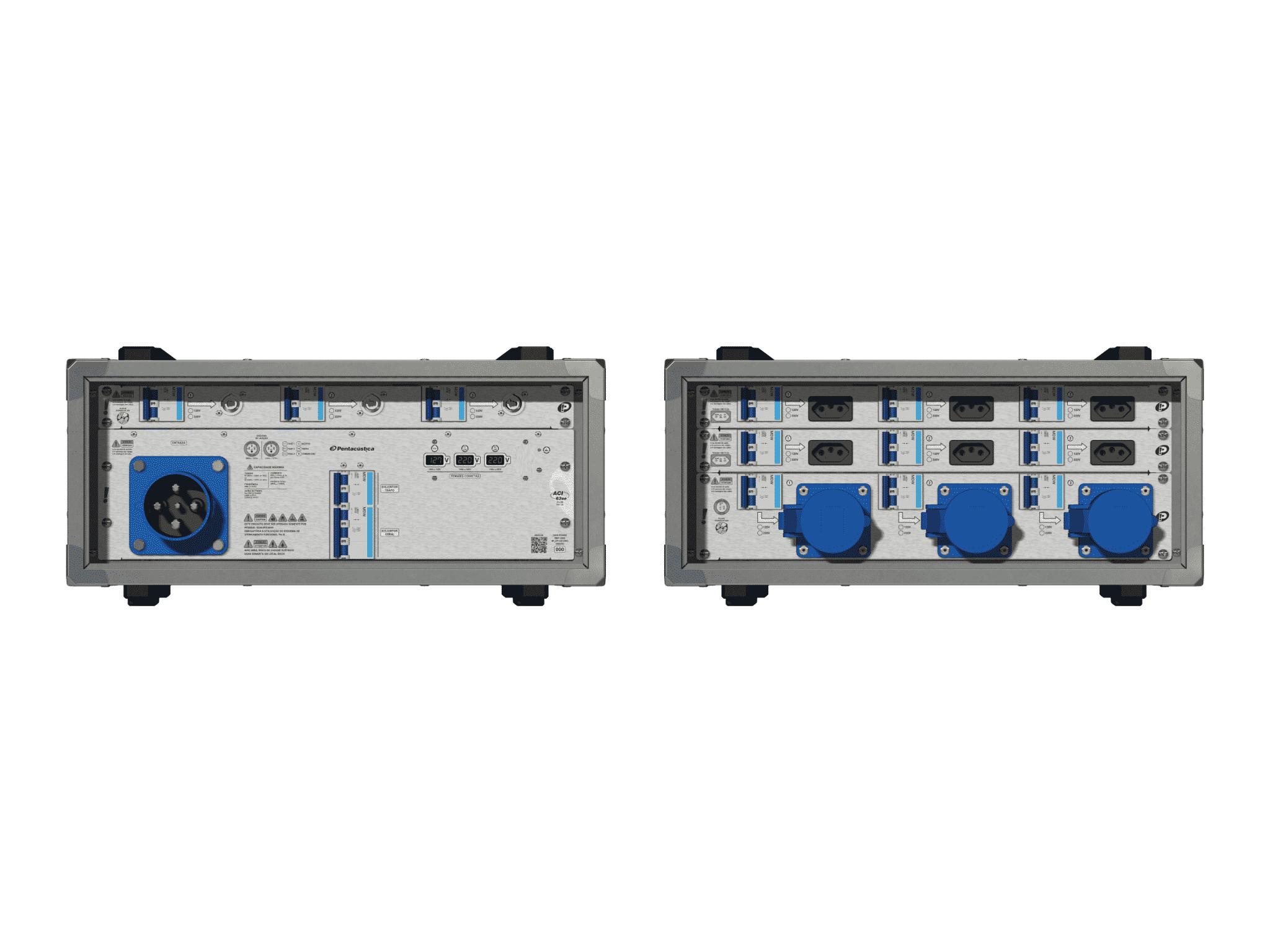 Main power RMP-63se, 4 polos, 2F+CM (Universal), V087