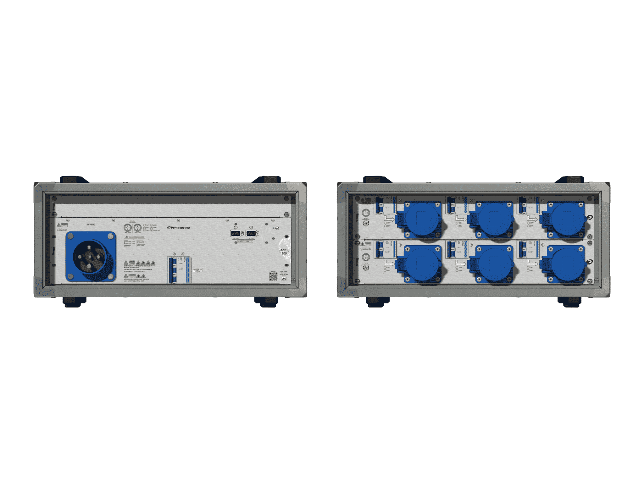Main power RMP-63se, 4 polos, 2F+CM (Universal), V104