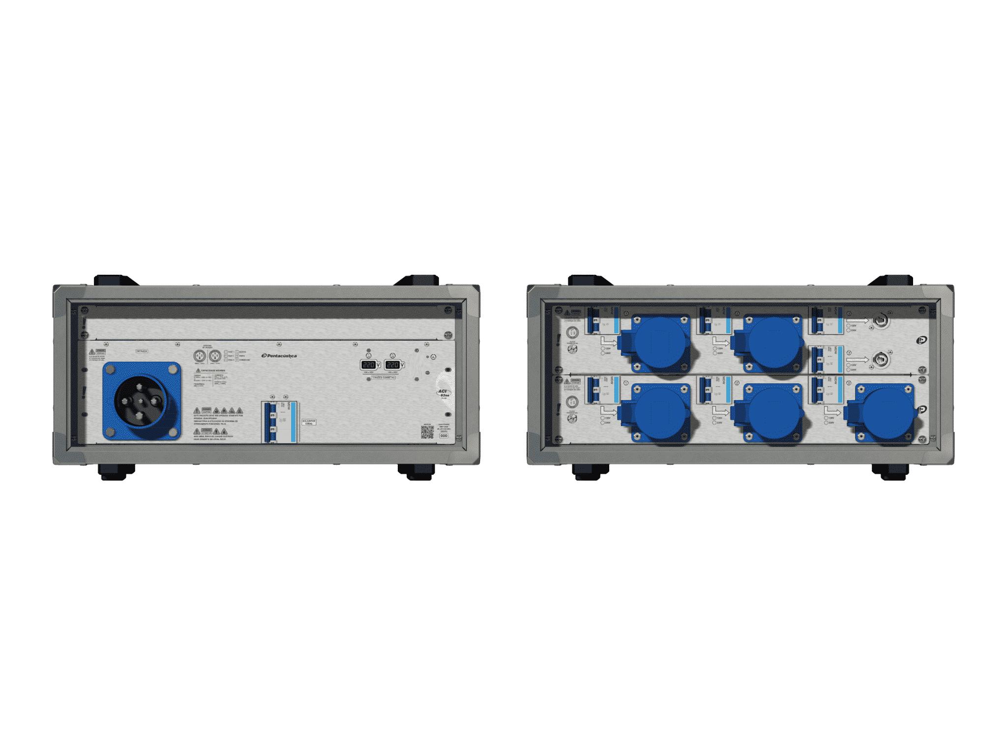 Main power RMP-63se, 4 polos, 2F+CM (Universal), V105