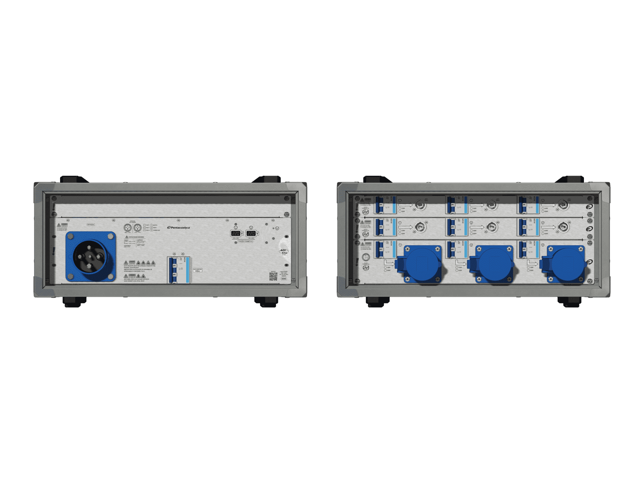 Main power RMP-63se, 4 polos, 2F+CM (Universal), V107