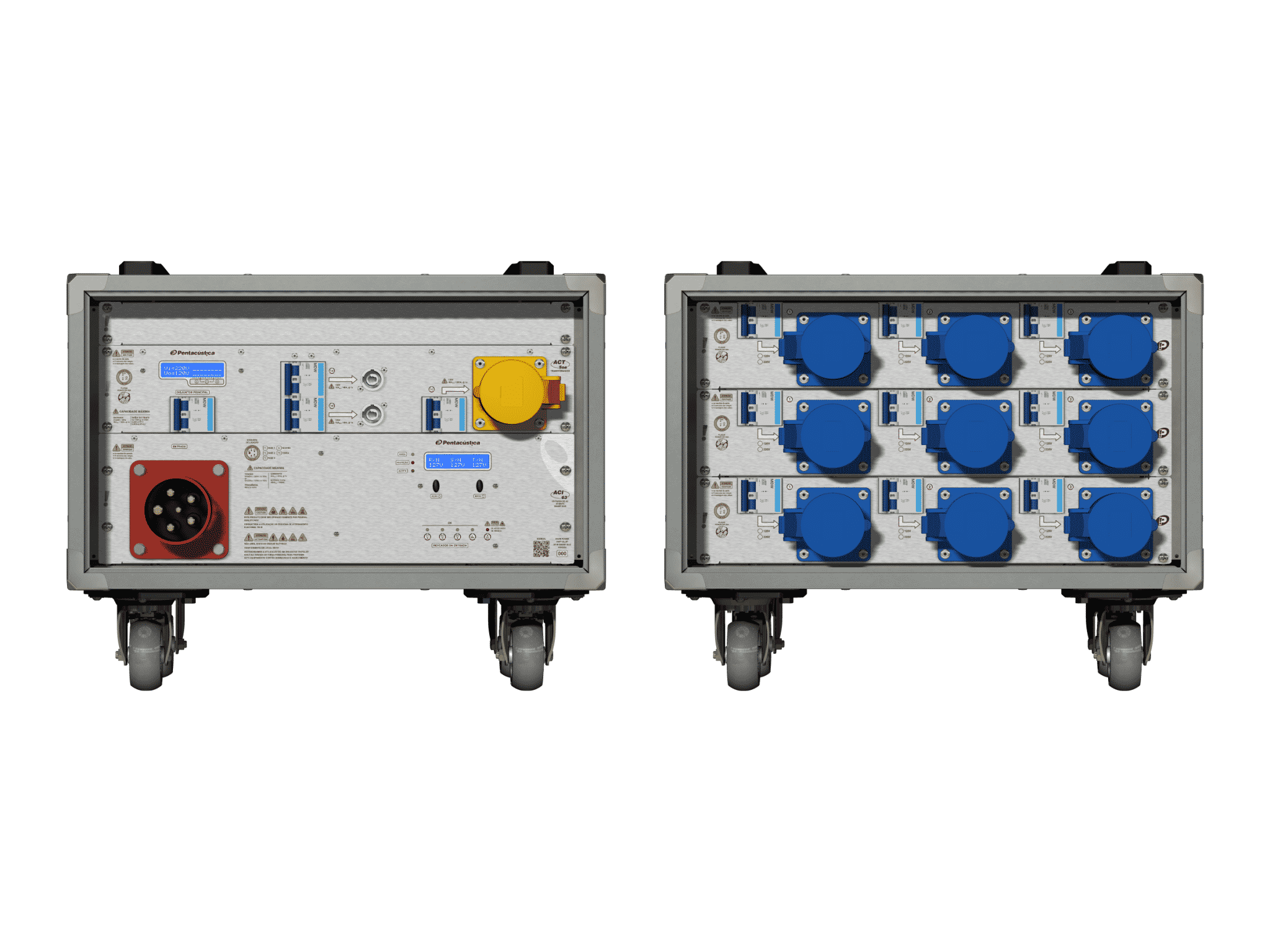 Main power RMP-63, 5 polos, 3F+N Smart Bus, V001