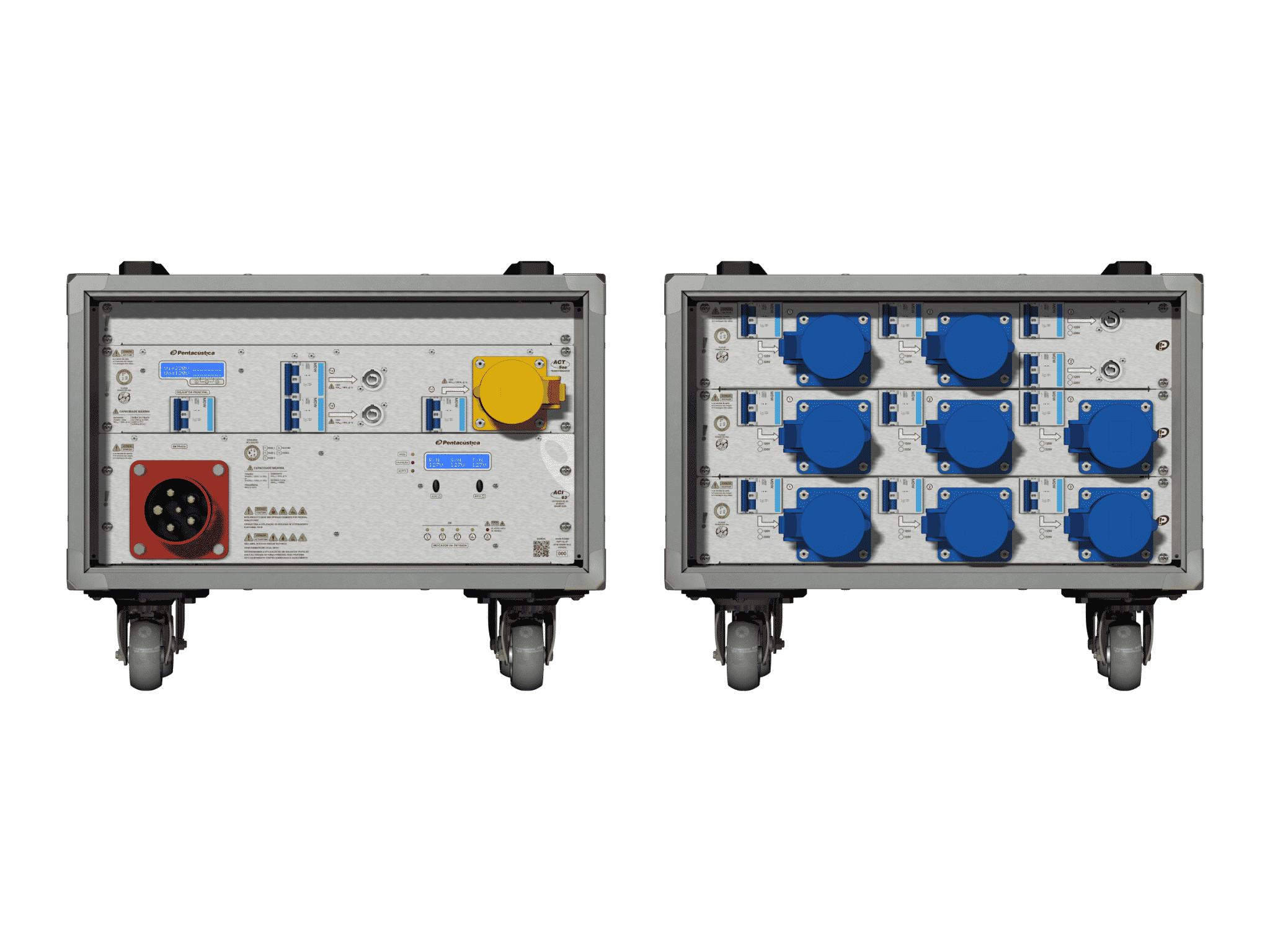 Main power RMP-63, 5 polos, 3F+N Smart Bus, V003