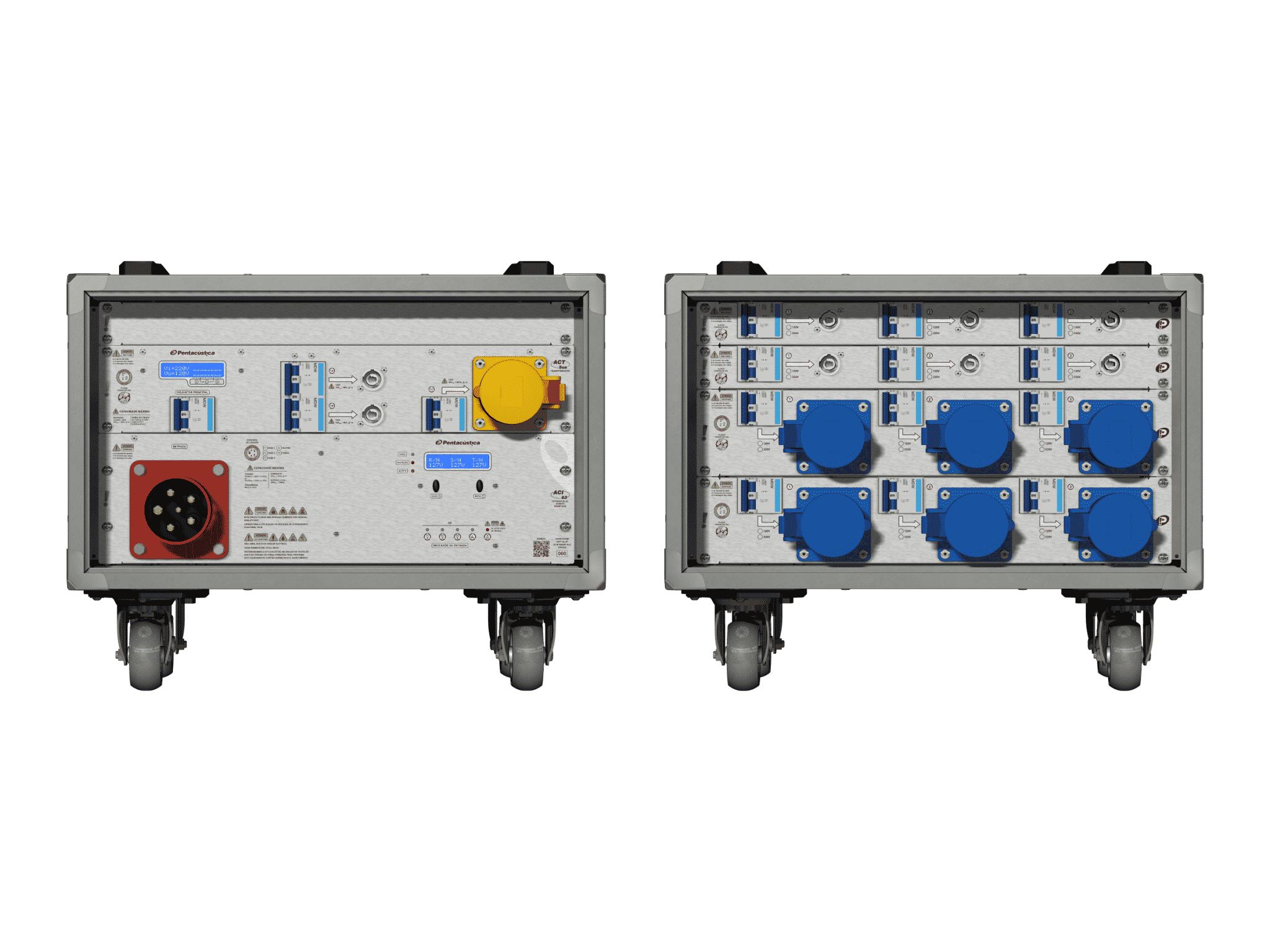 Main power RMP-63, 5 polos, 3F+N Smart Bus, V005