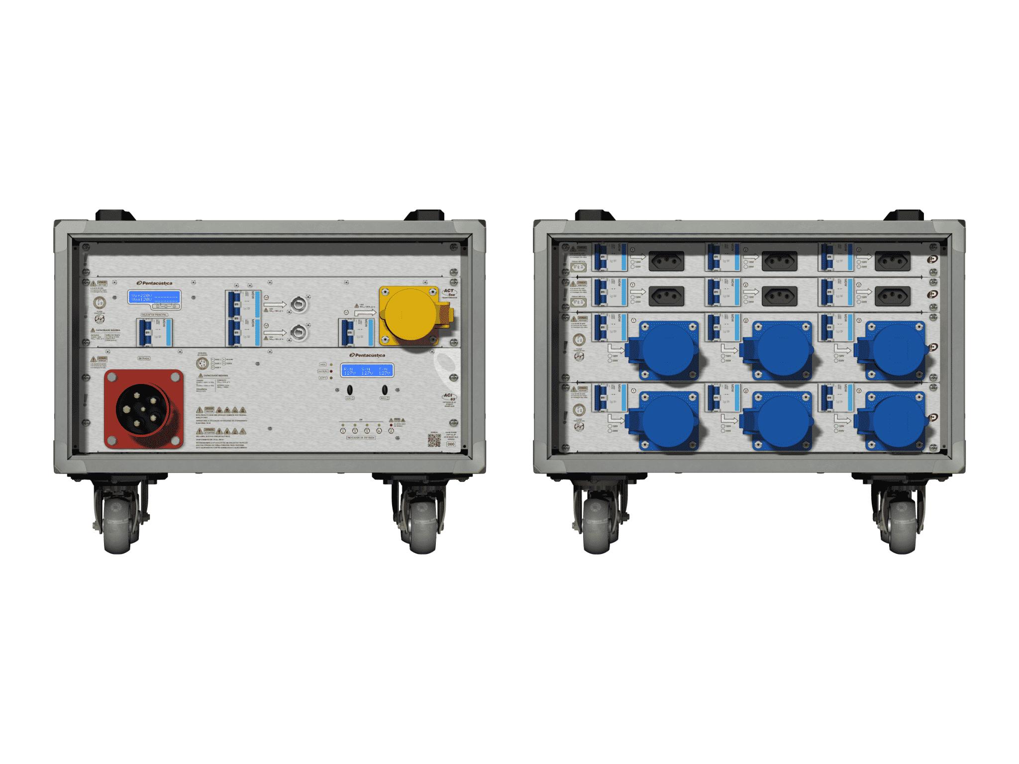 Main power RMP-63, 5 polos, 3F+N Smart Bus, V007