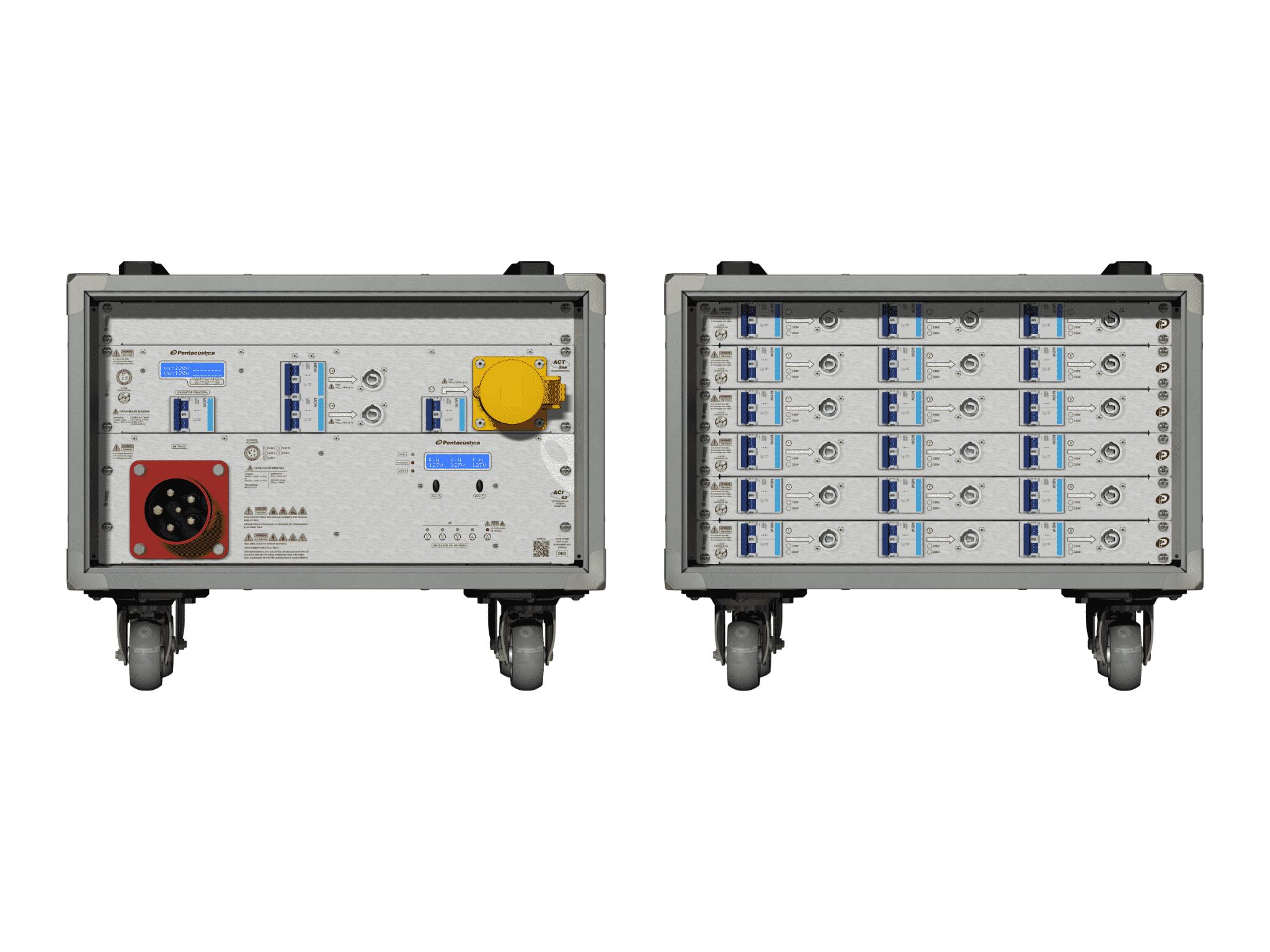 Main power RMP-63, 5 polos, 3F+N Smart Bus, V013