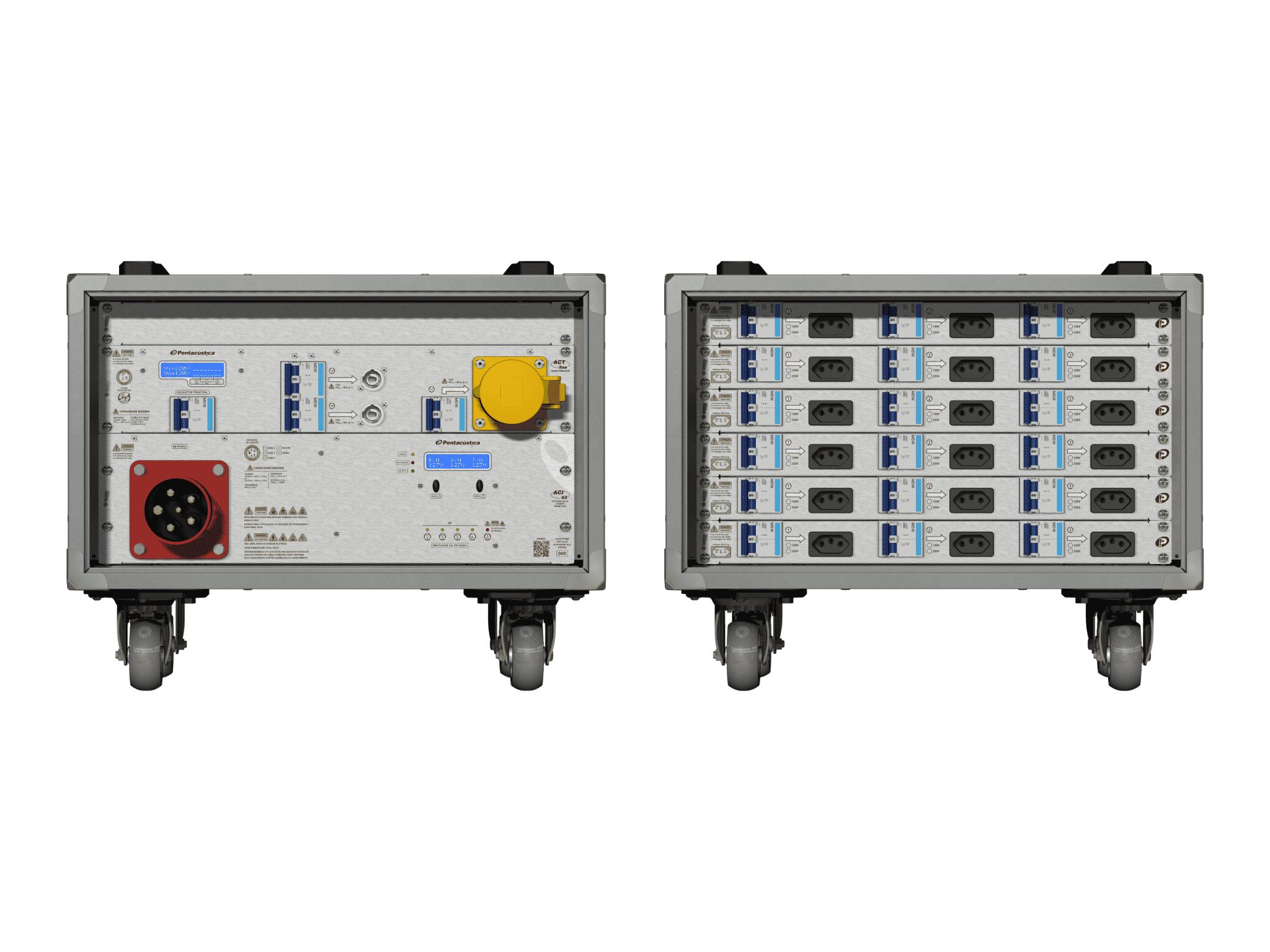 Main power RMP-63, 5 polos, 3F+N Smart Bus, V015