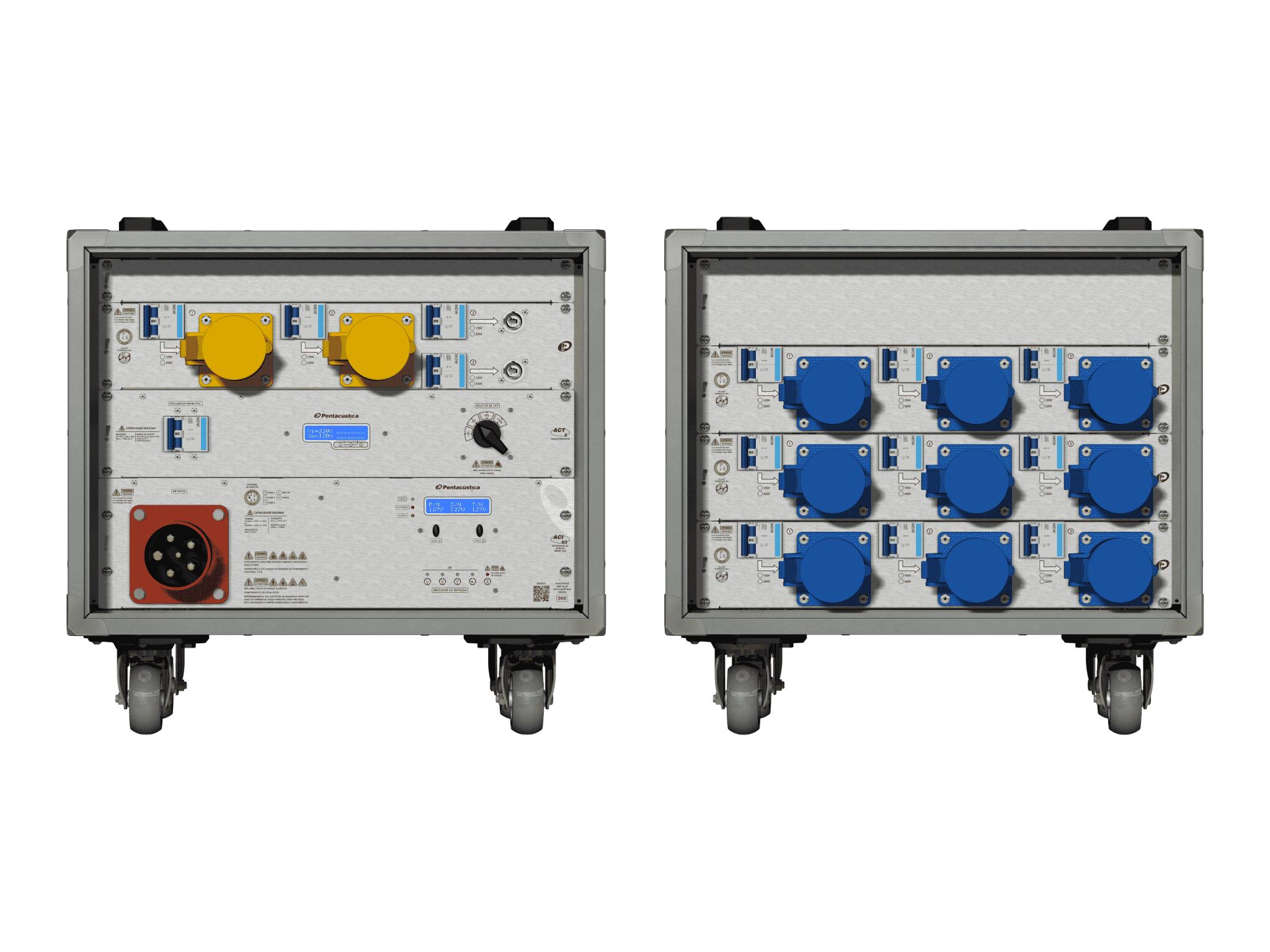 Main power RMP-63, 5 polos, 3F+N Smart Bus, V041
