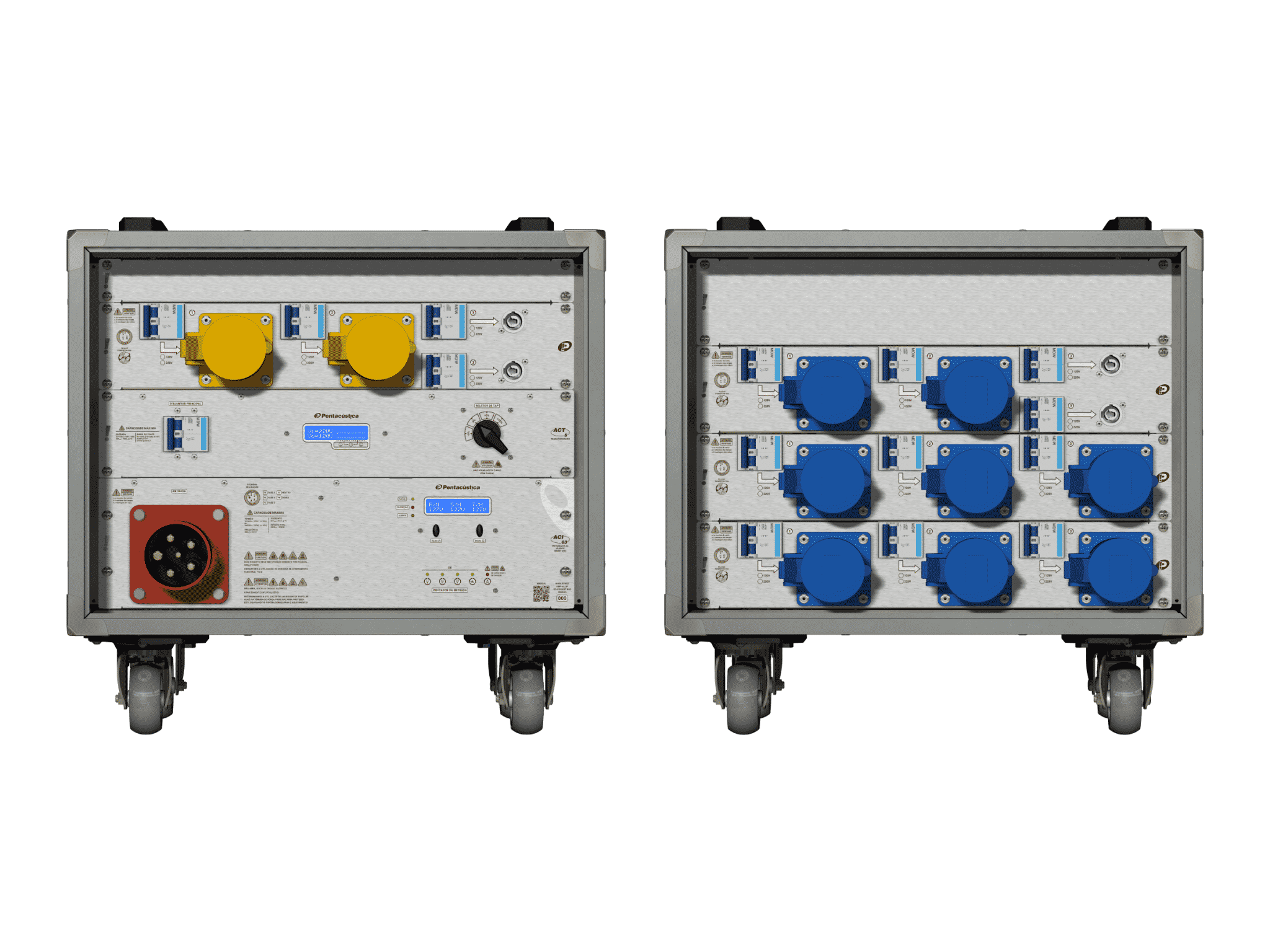 Main power RMP-63, 5 polos, 3F+N Smart Bus, V045