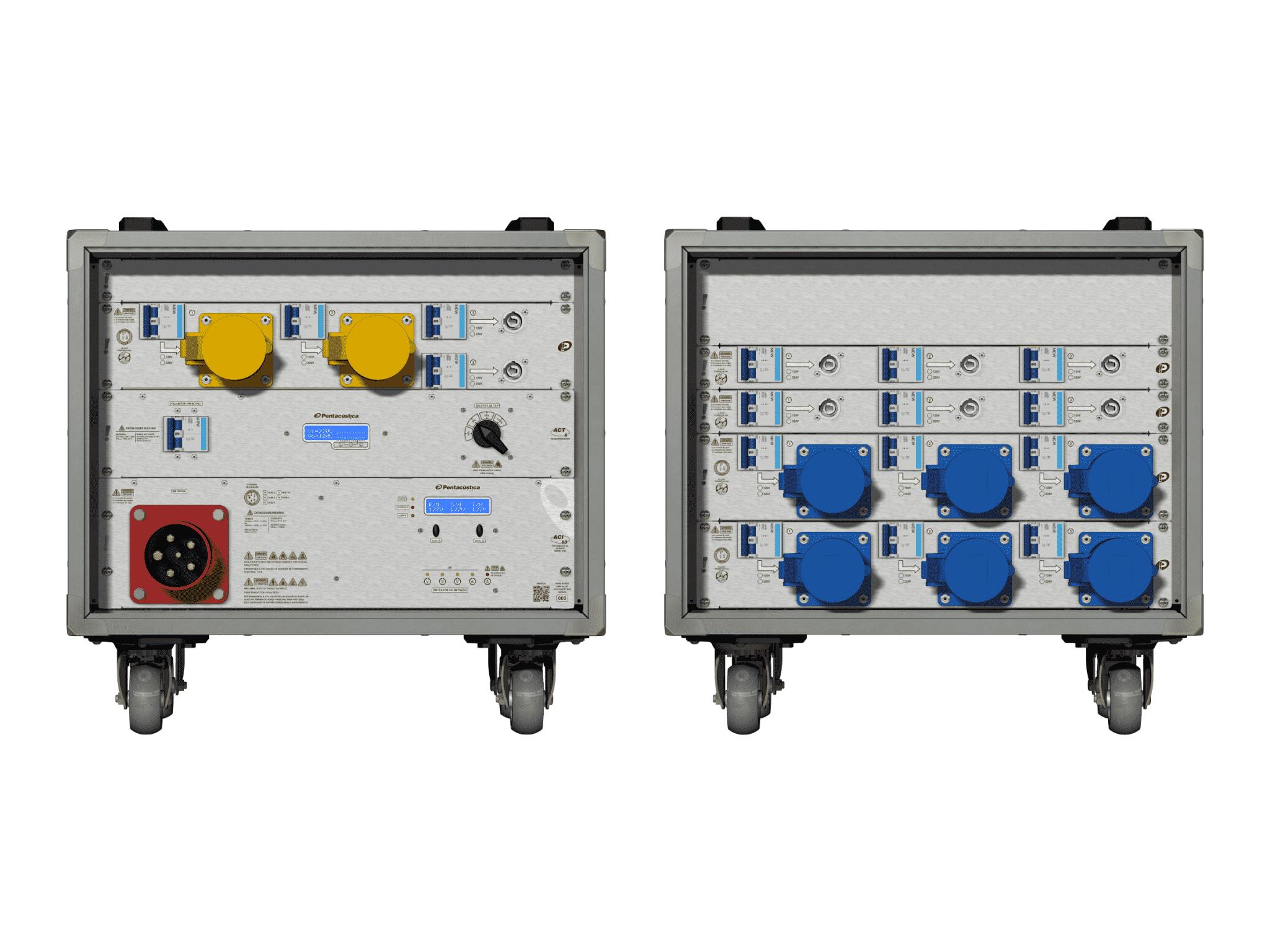 Main power RMP-63, 5 polos, 3F+N Smart Bus, V049