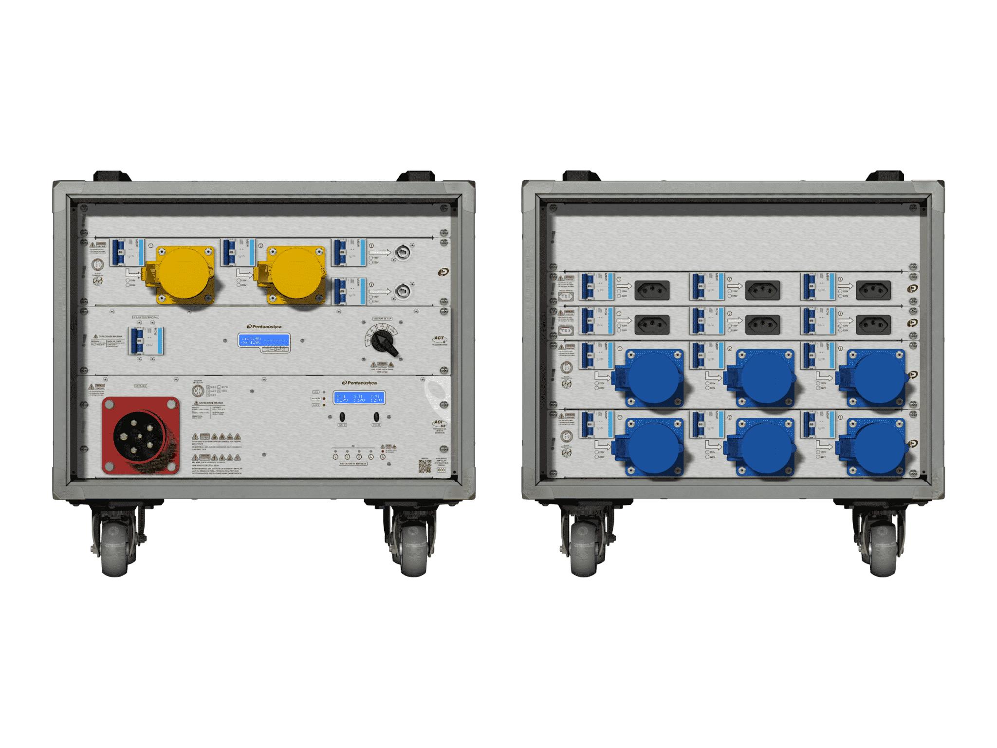 Main power RMP-63, 5 polos, 3F+N Smart Bus, V053