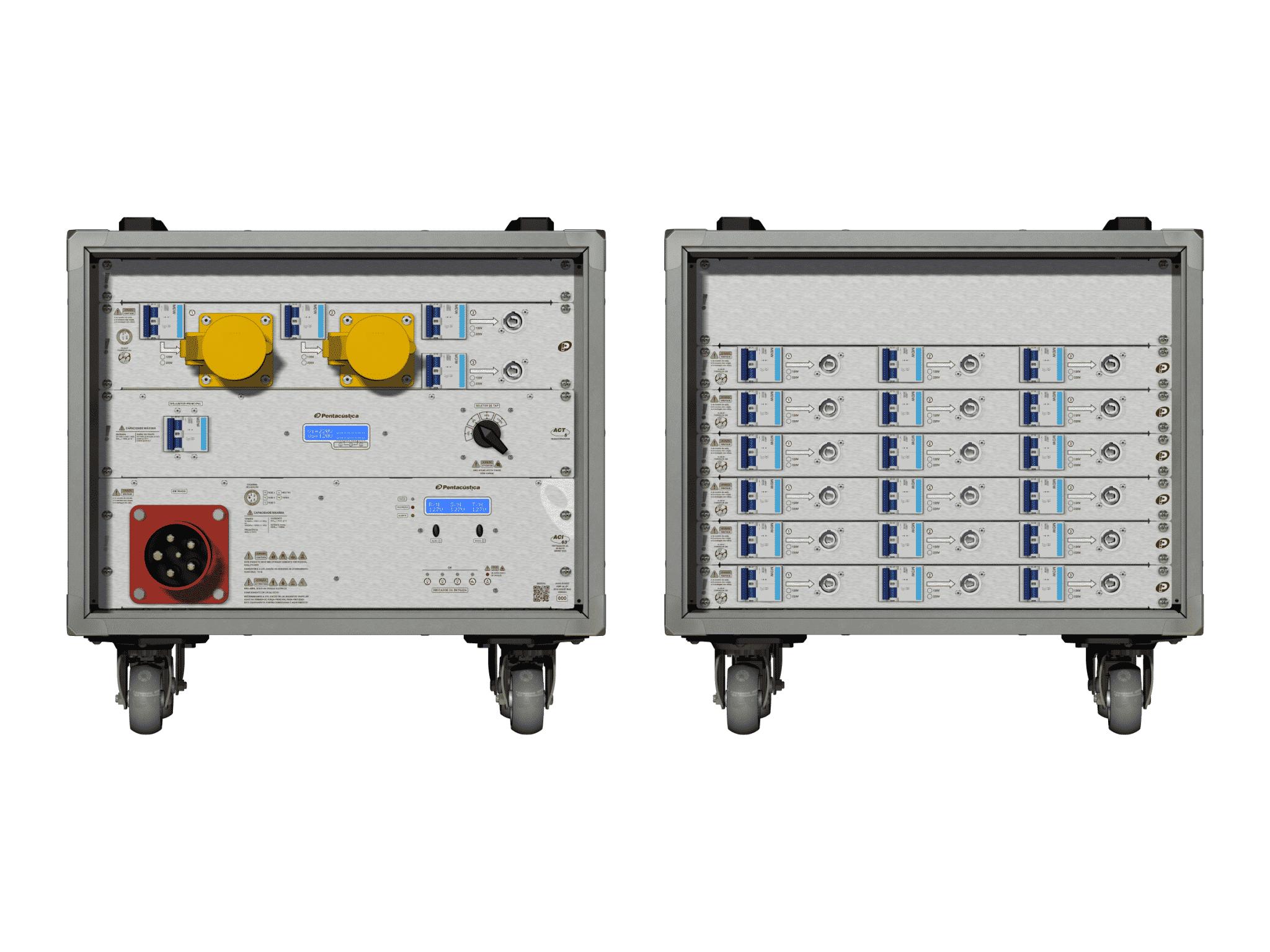 Main power RMP-63, 5 polos, 3F+N Smart Bus, V065