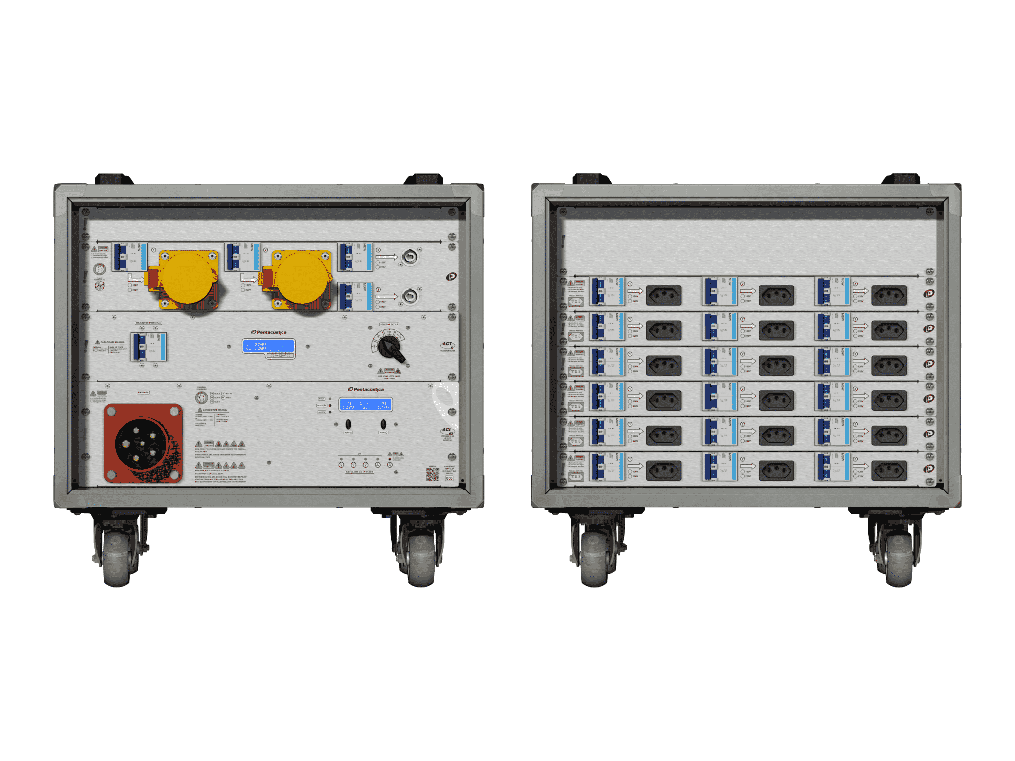 Main power RMP-63, 5 polos, 3F+N Smart Bus, V069