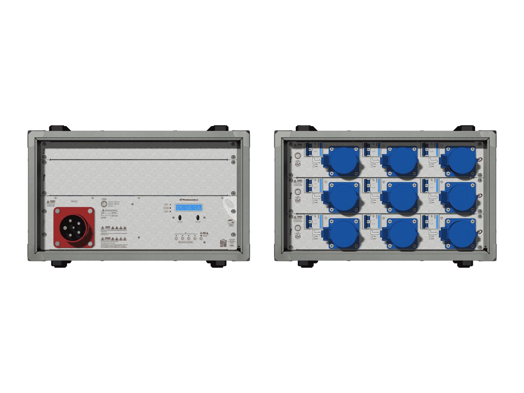 Main power RMP-63, 5 polos, 3F+N Smart Bus, V121