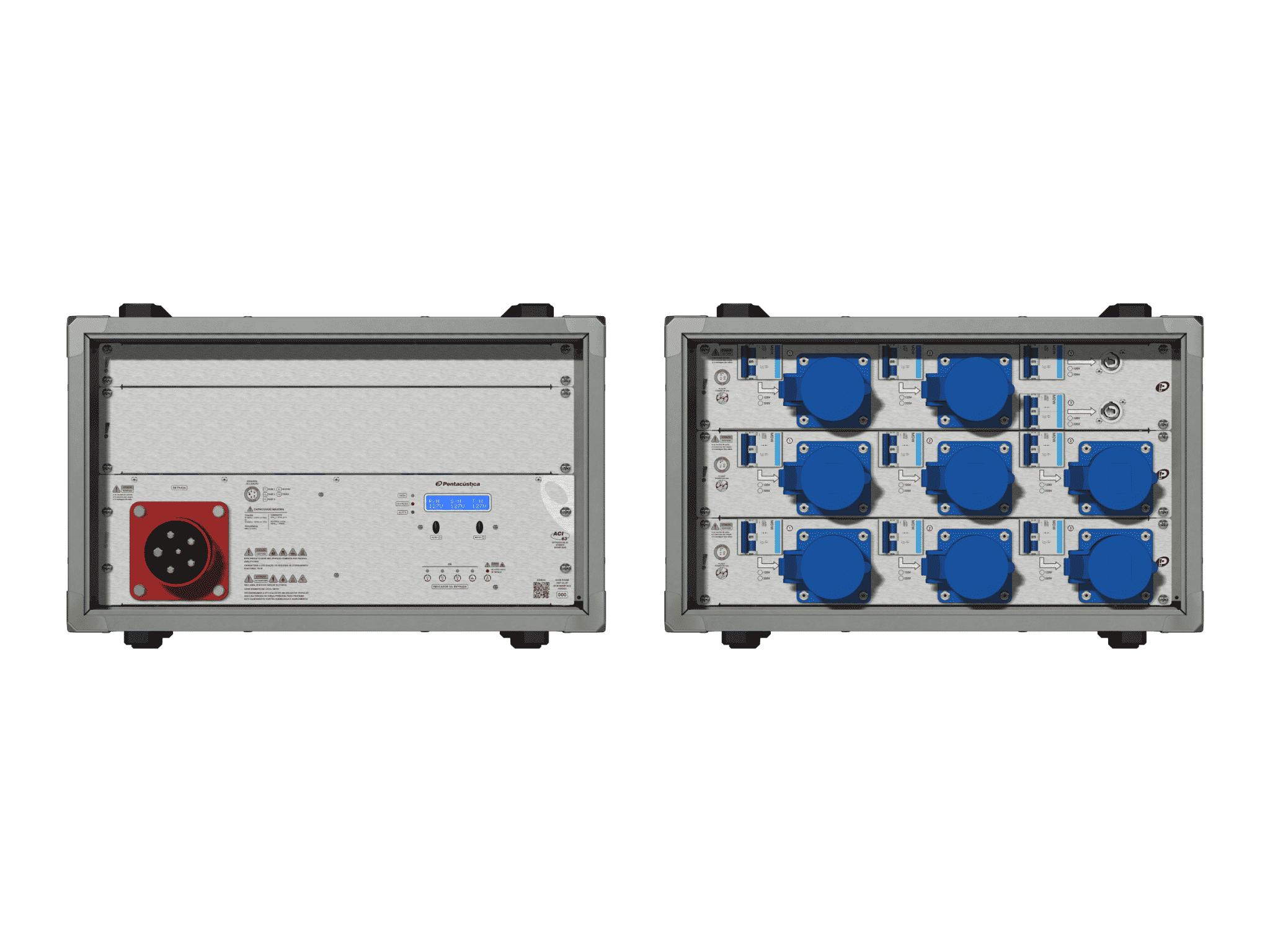 Main power RMP-63, 5 polos, 3F+N Smart Bus, V122