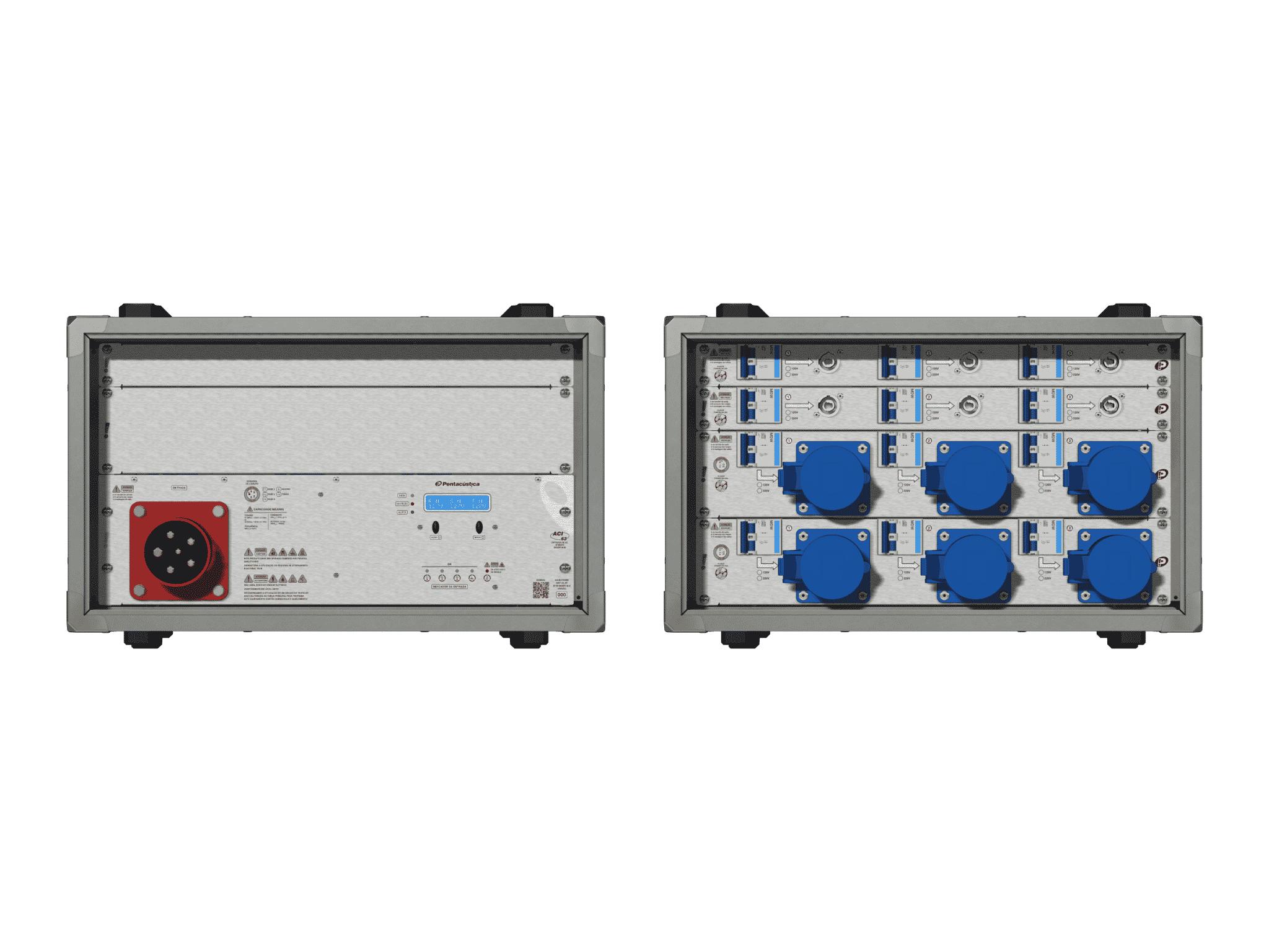 Main power RMP-63, 5 polos, 3F+N Smart Bus, V123