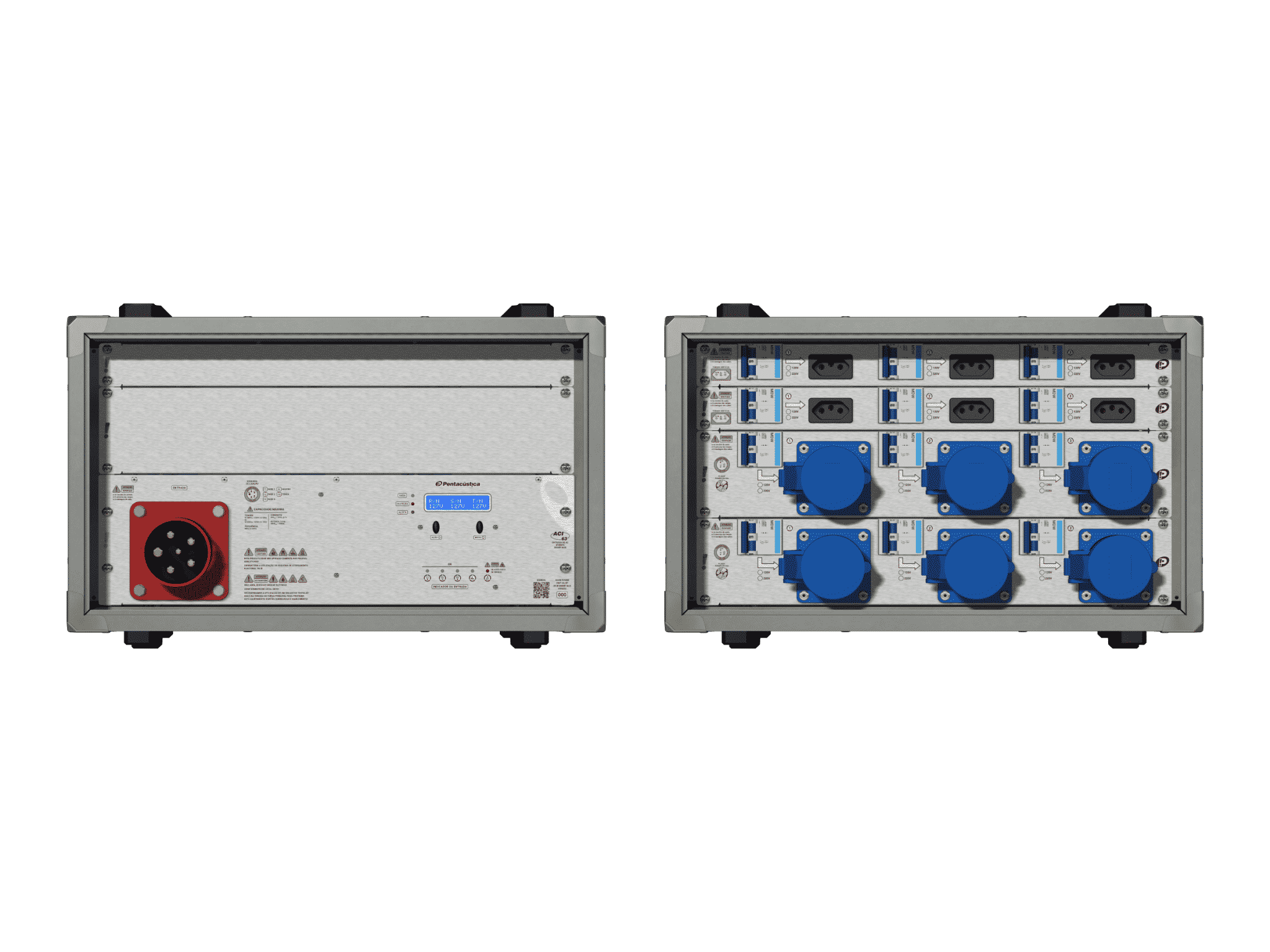 Main power RMP-63, 5 polos, 3F+N Smart Bus, V124