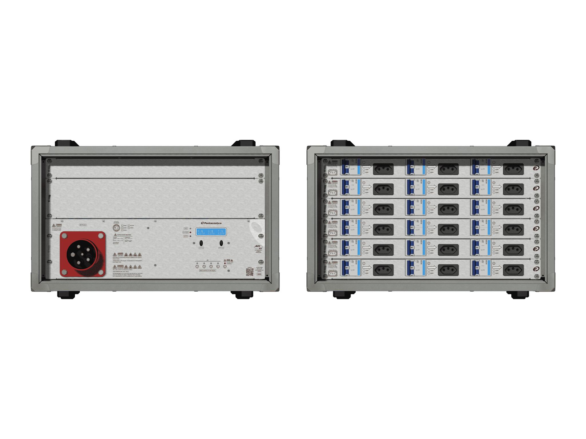Main power RMP-63, 5 polos, 3F+N Smart Bus, V128