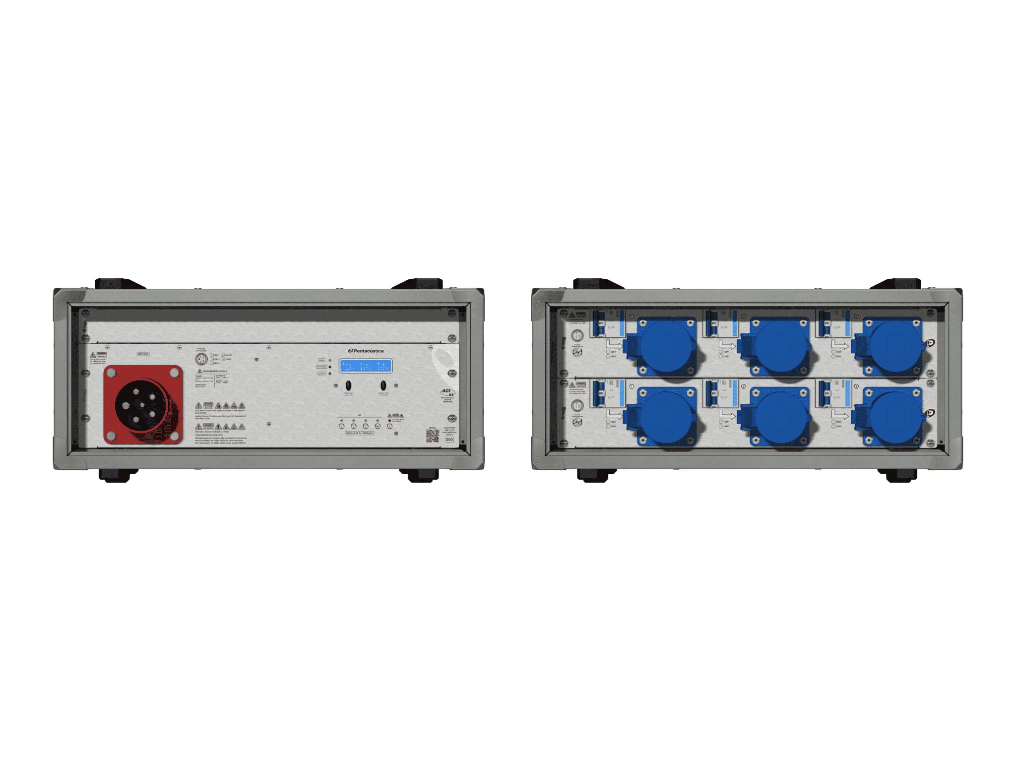 Main power RMP-63, 5 polos, 3F+N Smart Bus, V141