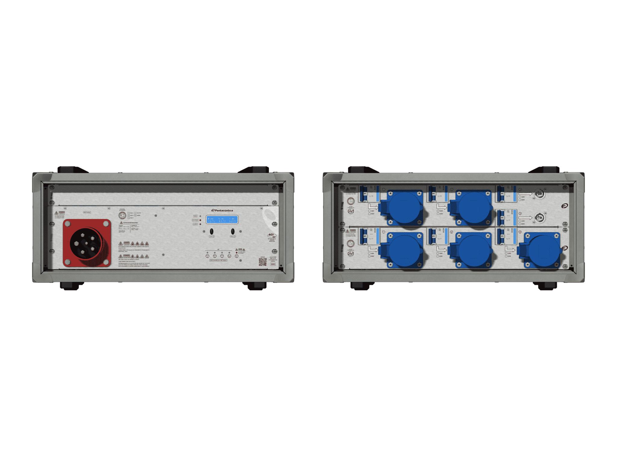 Main power RMP-63, 5 polos, 3F+N Smart Bus, V142