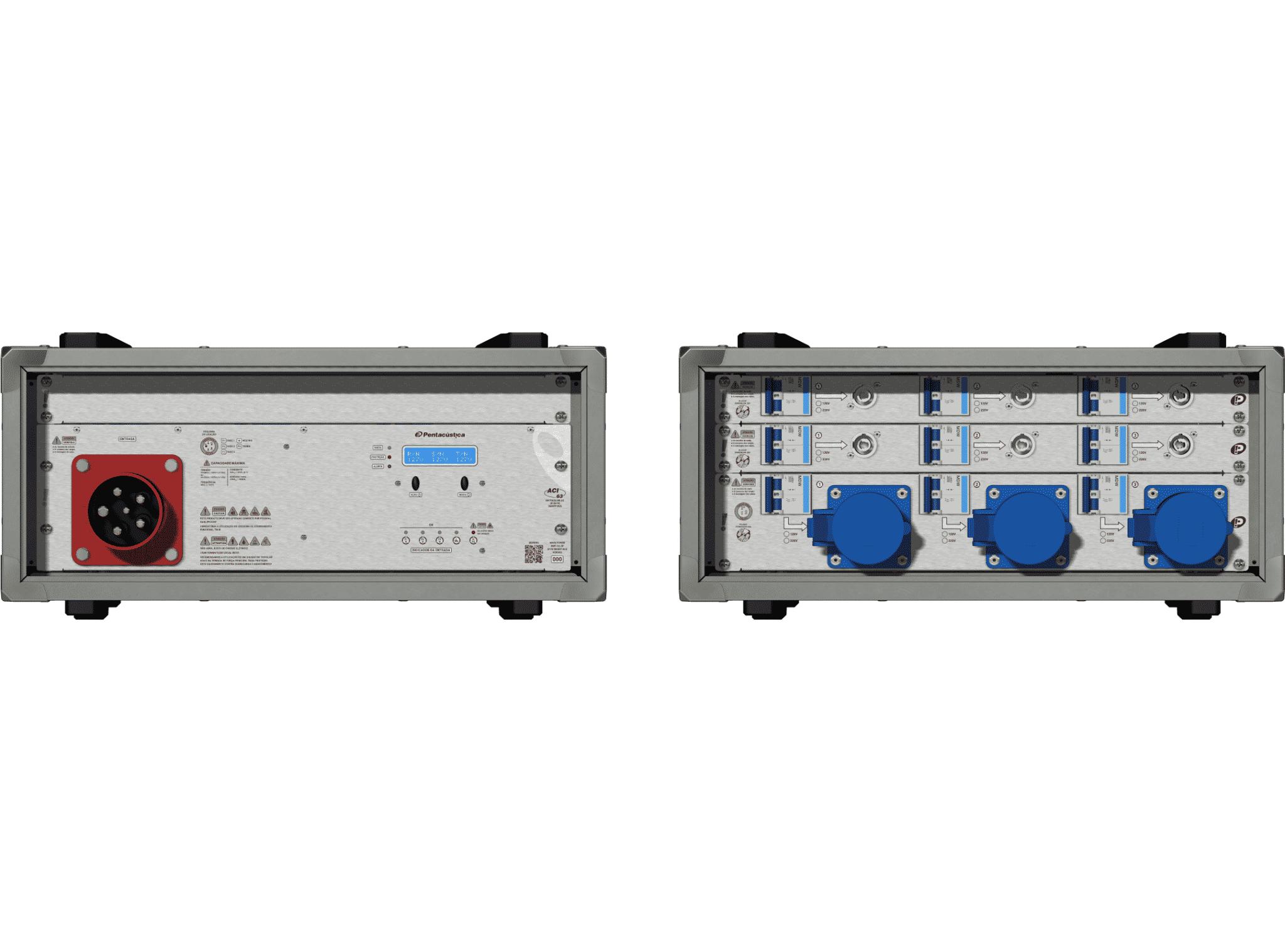 Main power RMP-63, 5 polos, 3F+N Smart Bus, V143