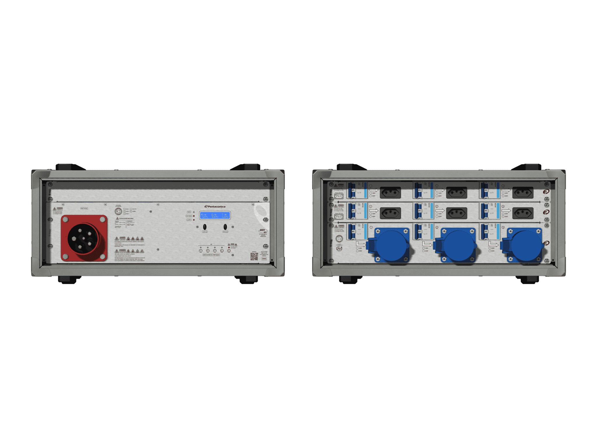 Main power RMP-63, 5 polos, 3F+N Smart Bus, V144