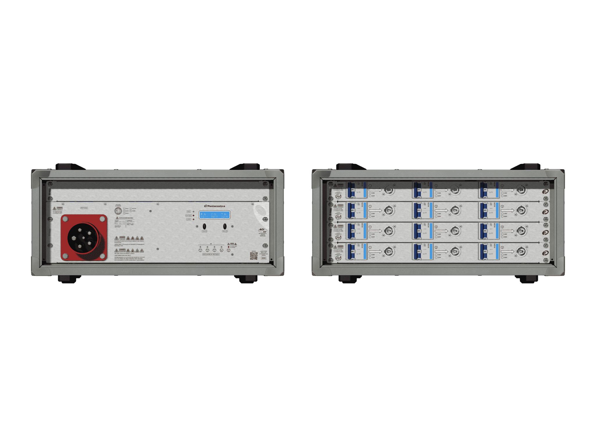 Main power RMP-63, 5 polos, 3F+N Smart Bus, V145