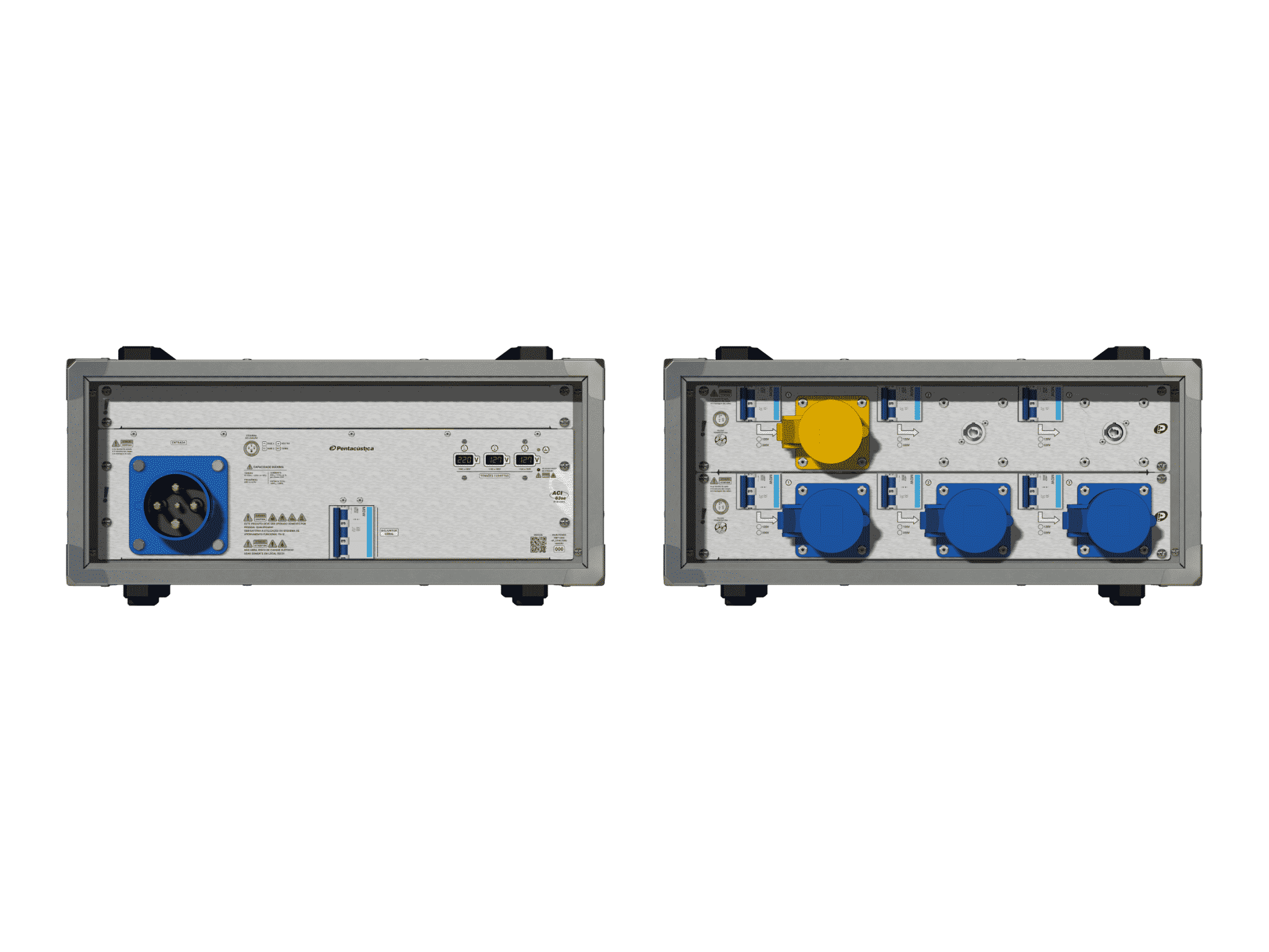 Main power RMP-63se, 4 polos, 2F+N (220VD/127VY), V001