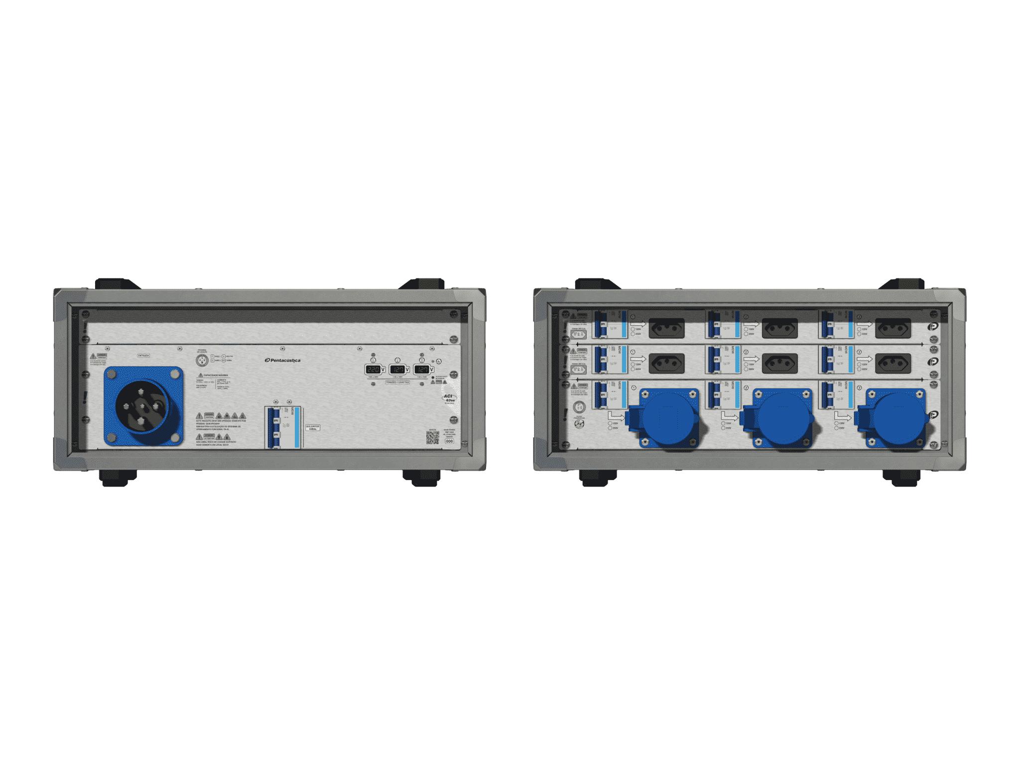 Main power RMP-63se, 4 polos, 2F+N (220VD/127VY), V007