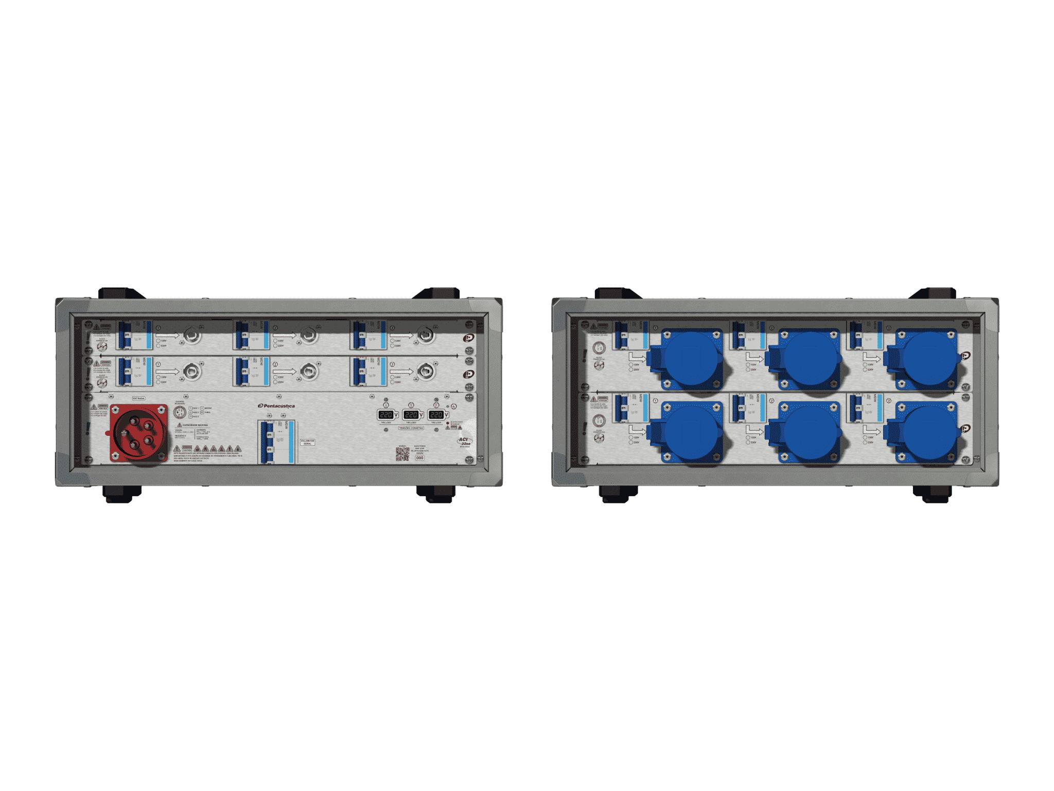 Main power RMP-32se, 5 polos, 3F+N (220VD/127VY), V002