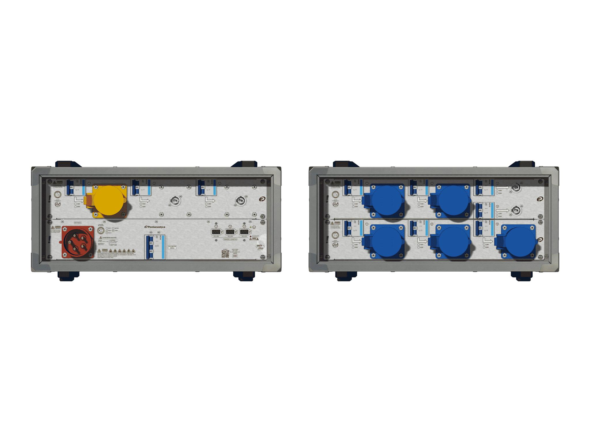 Main power RMP-32se, 5 polos, 3F+N (220VD/127VY), V007
