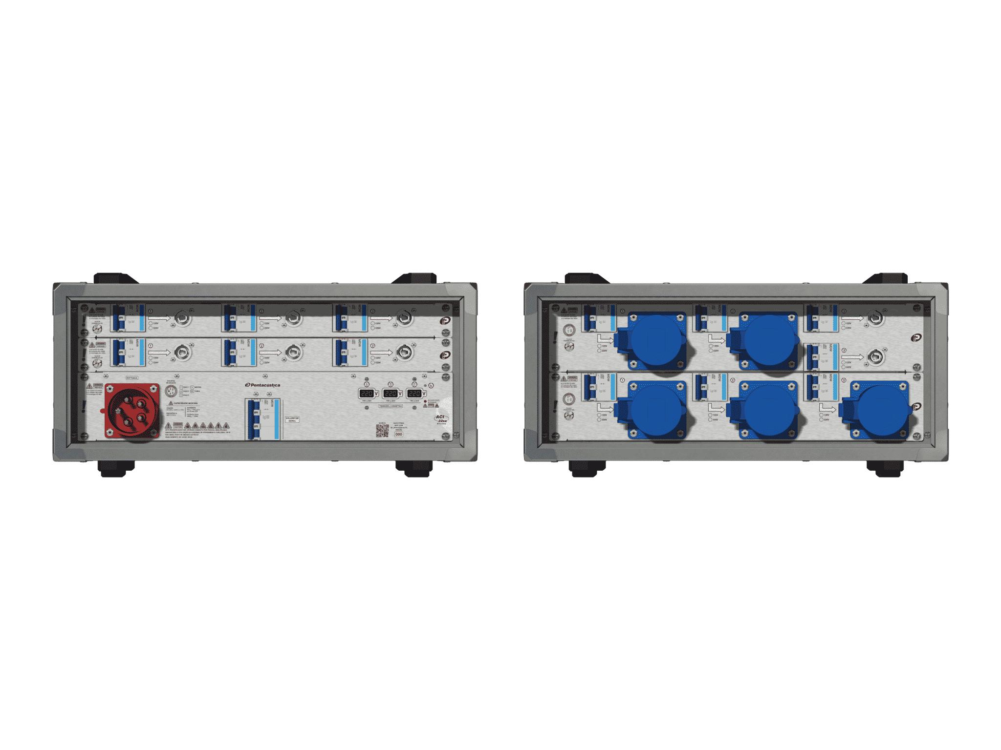 Main power RMP-32se, 5 polos, 3F+N (220VD/127VY), V008