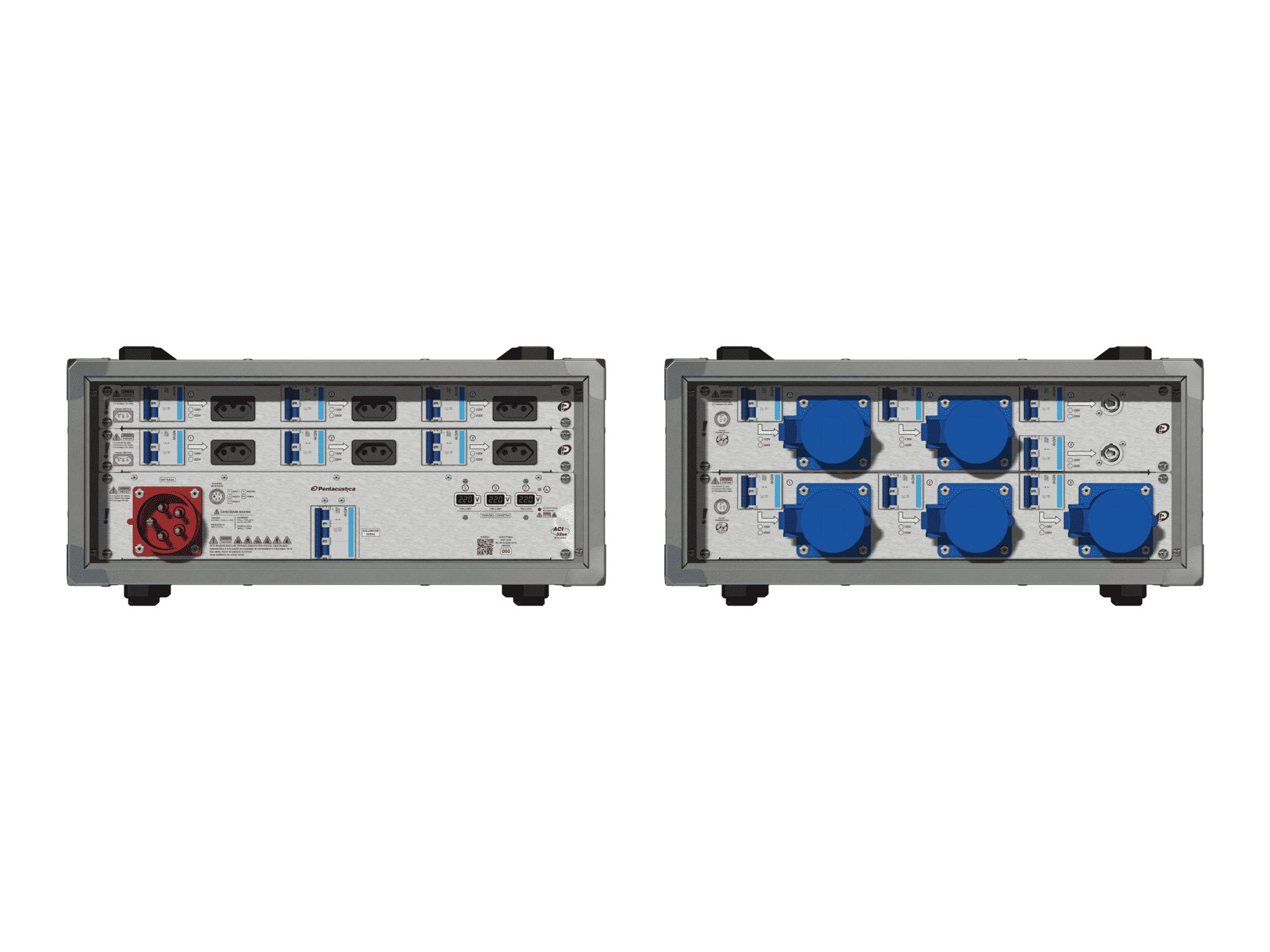 Main power RMP-32se, 5 polos, 3F+N (220VD/127VY), V009