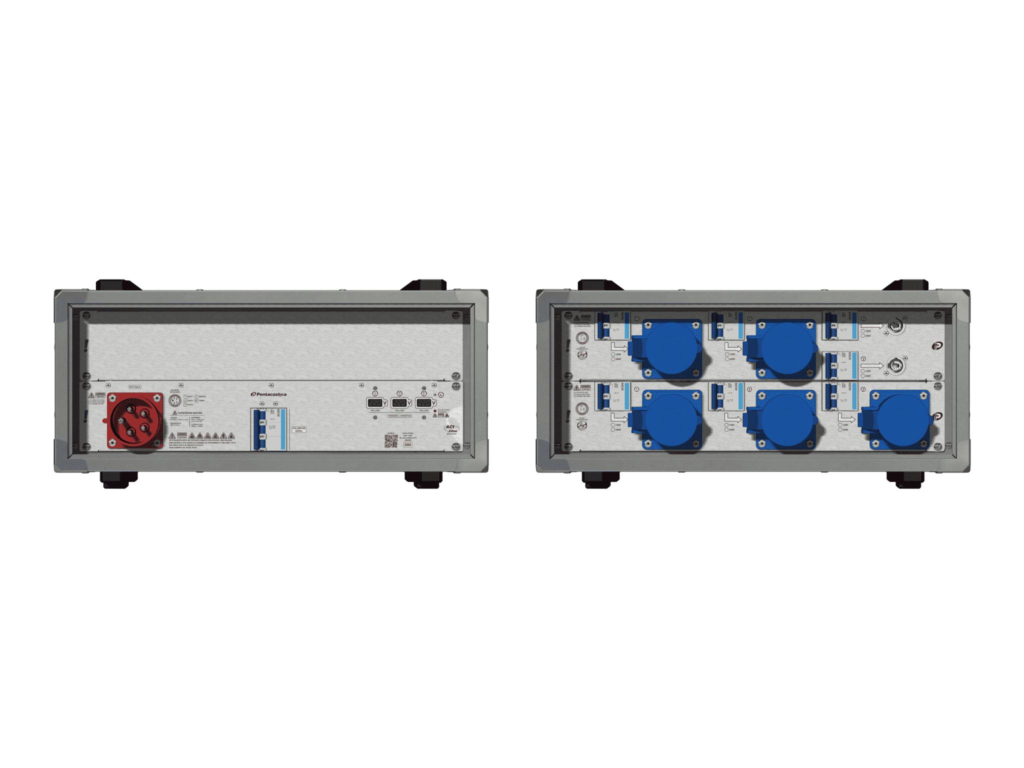 Main power RMP-32se, 5 polos, 3F+N (220VD/127VY), V012