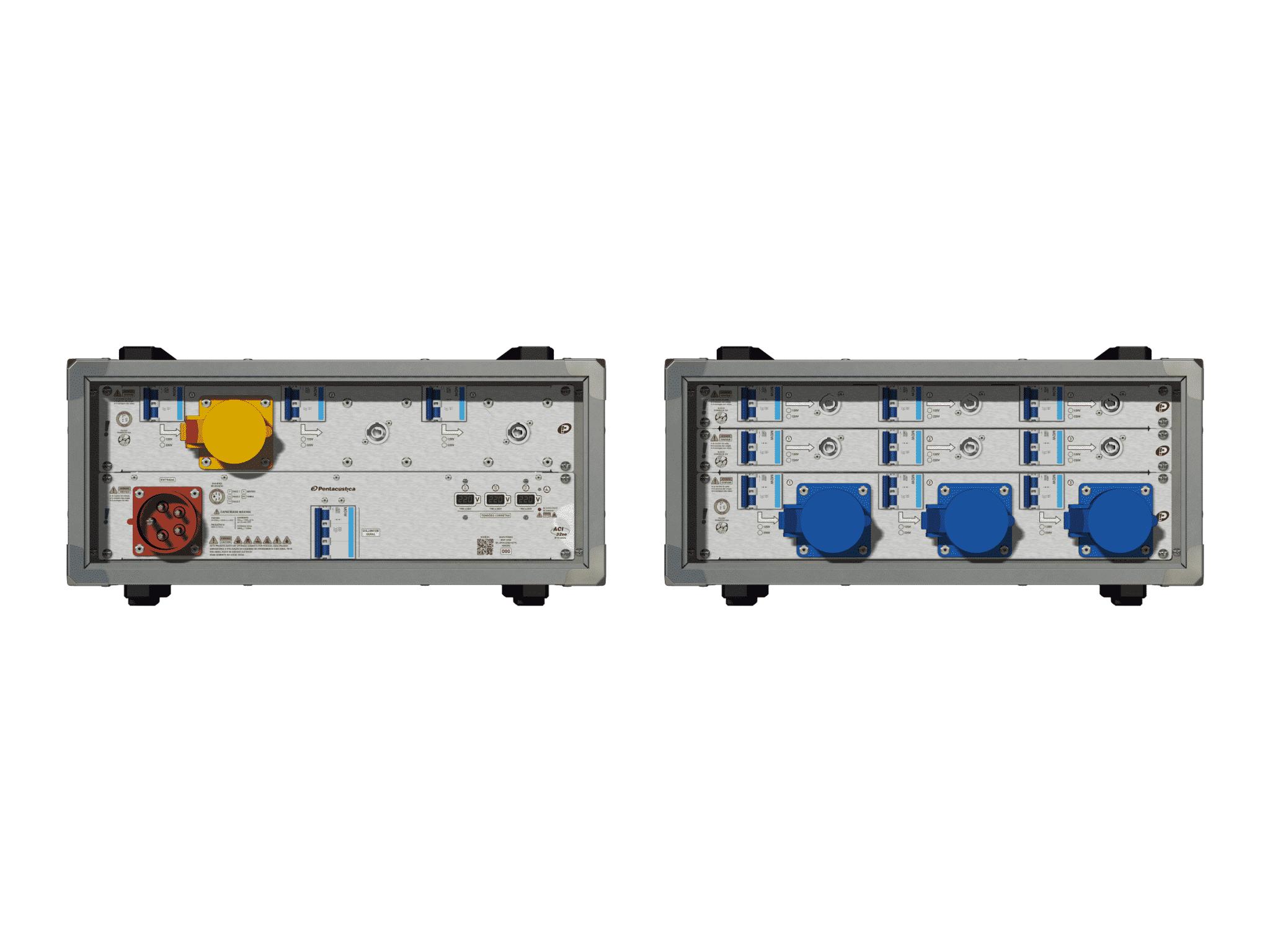 Main power RMP-32se, 5 polos, 3F+N (220VD/127VY), V013