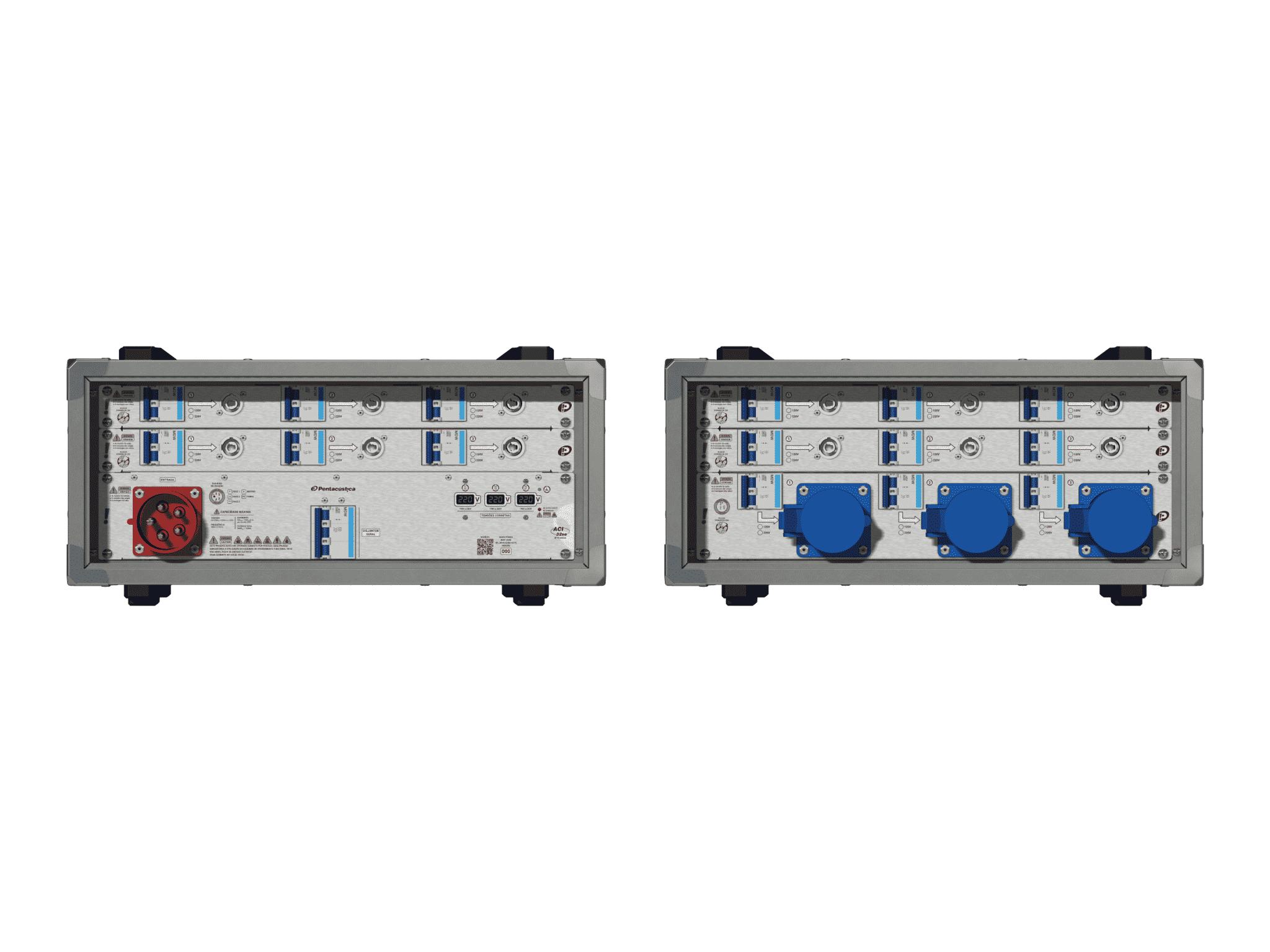 Main power RMP-32se, 5 polos, 3F+N (220VD/127VY), V014